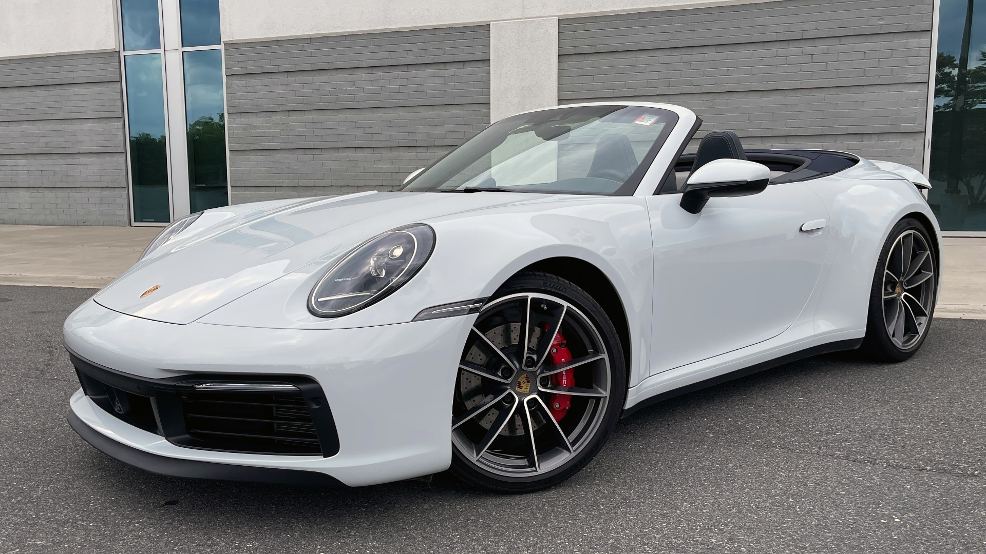Used 2020 Porsche 911 CARRERA 4S CABRIOLET PREMIUM SPORT PKG / NAV / BOSE / LIGHT DESIGN PKG for sale $167,595 at Formula Imports in Charlotte NC 28227 1