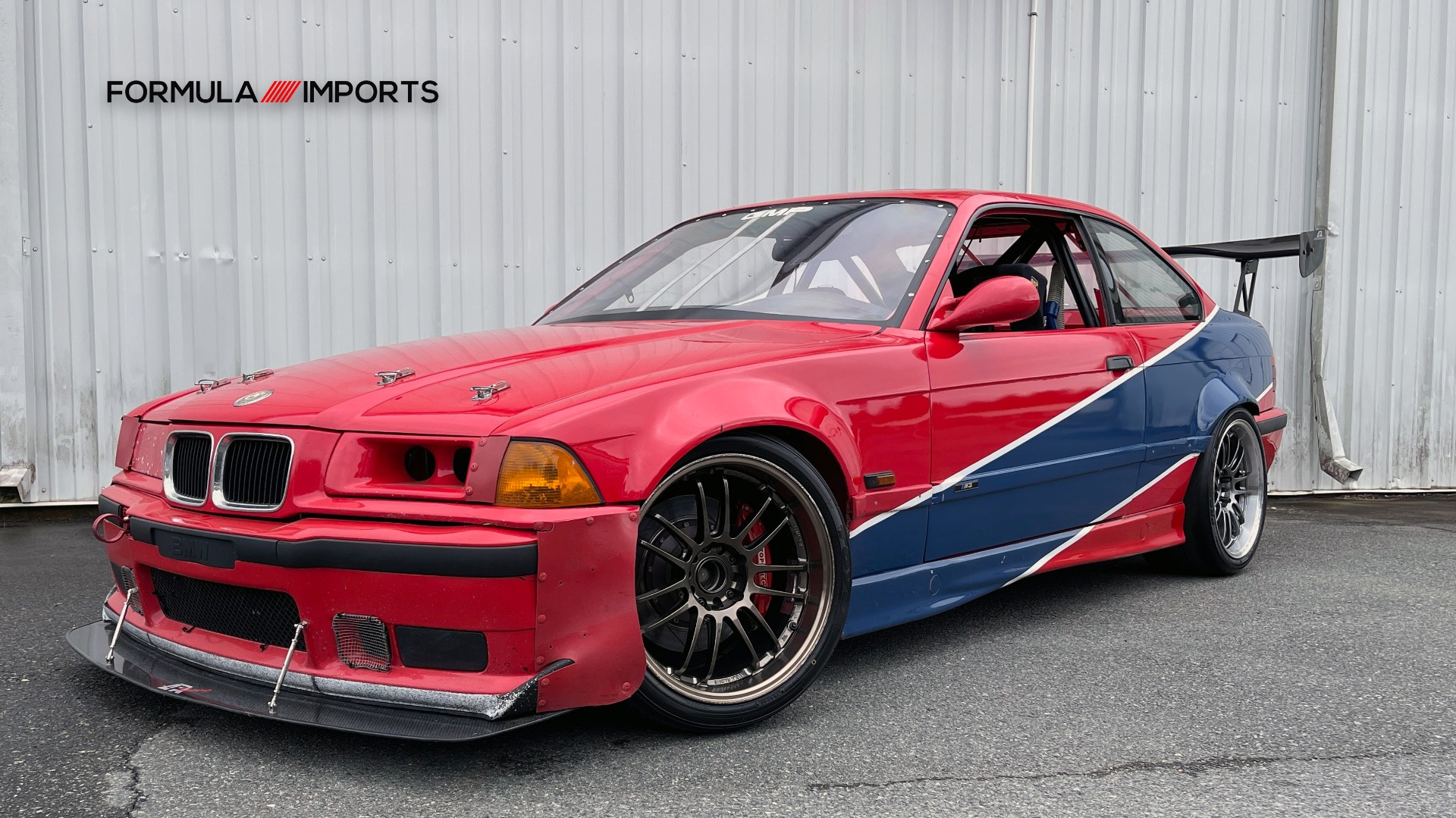 Used 1996 BMW 3-SERIES M3 TRACK CAR / 5-SPD / MANUAL / FULL CAGE / CARBON FIBER WING for sale $47,995 at Formula Imports in Charlotte NC 28227 20