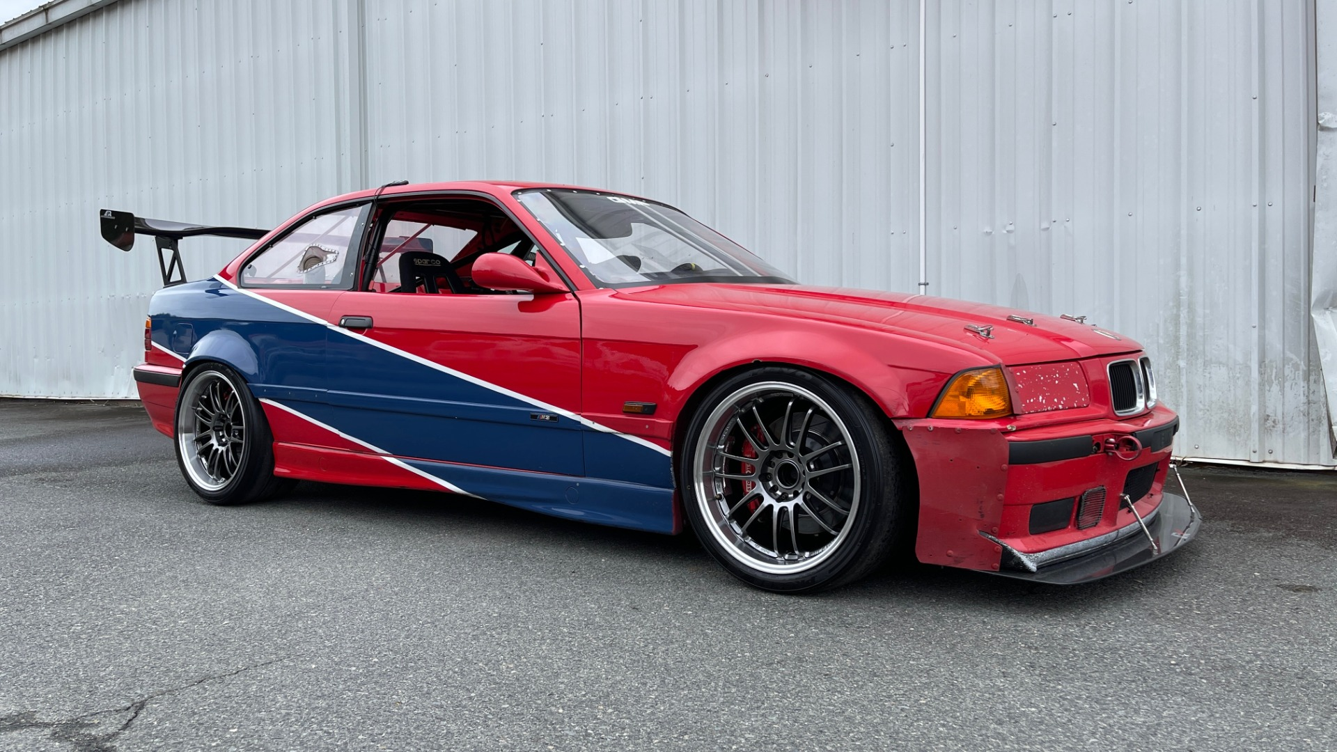 Used 1996 BMW 3-SERIES M3 TRACK CAR / 5-SPD / MANUAL / FULL CAGE / CARBON FIBER WING for sale $47,995 at Formula Imports in Charlotte NC 28227 1