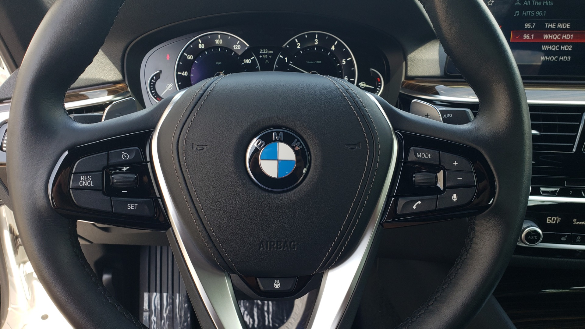 Used 2018 BMW 5 SERIES 530I XDRIVE PREMIUM / PARK ASST / NAV / SUNROOF / REARIEW for sale $37,795 at Formula Imports in Charlotte NC 28227 34