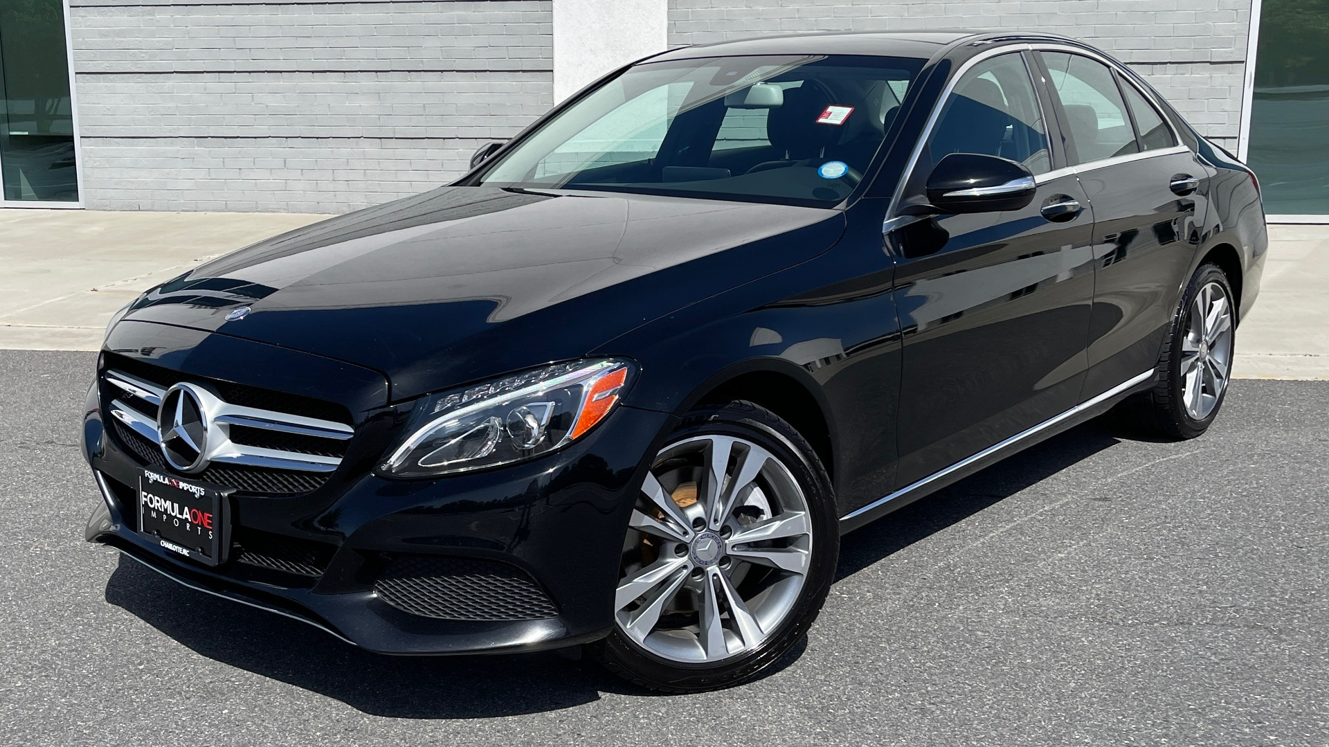 Used 2015 Mercedes-Benz C-CLASS C 300 4MATIC PREMIUM / MULTI MEDIA PKG / BSA / REARVIEW for sale $21,795 at Formula Imports in Charlotte NC 28227 1