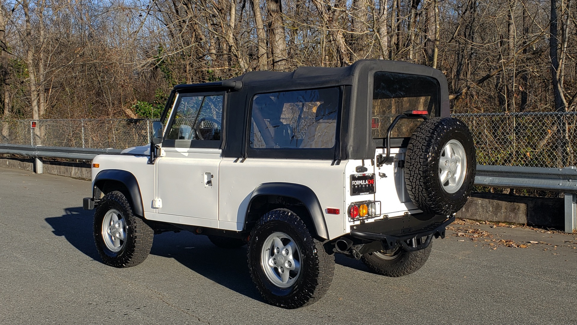 Used 1995 Land Rover DEFENDER 90 NAS SOFT-TOP AUTO / LS3 V8 / LOW MILES / SUPER CLEAN for sale Sold at Formula Imports in Charlotte NC 28227 3