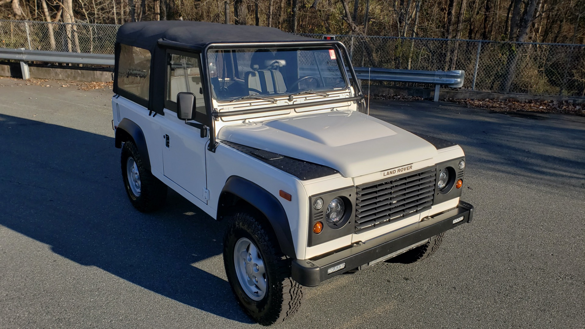 Used 1995 Land Rover DEFENDER 90 NAS SOFT-TOP AUTO / LS3 V8 / LOW MILES / SUPER CLEAN for sale Sold at Formula Imports in Charlotte NC 28227 4