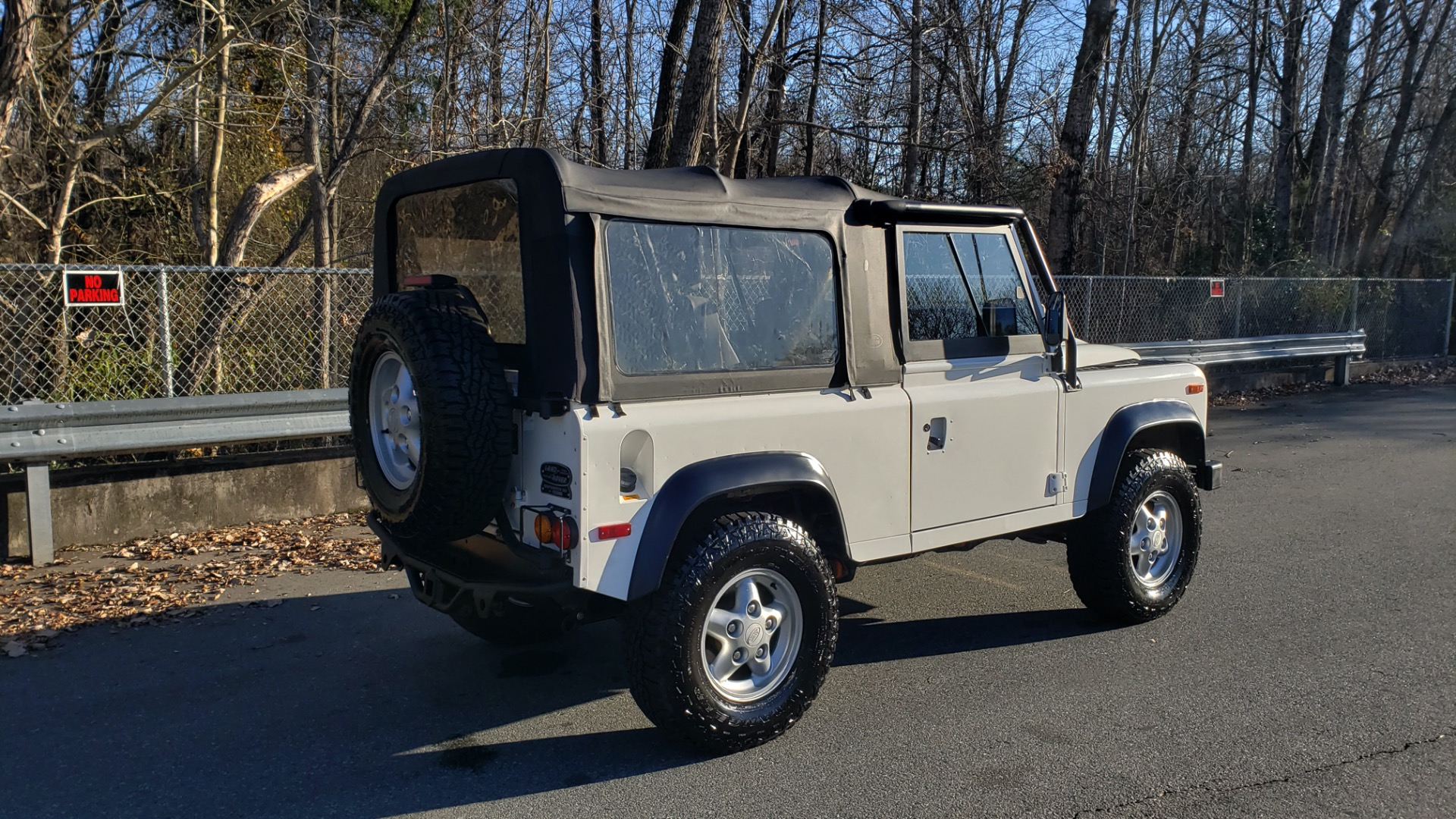Used 1995 Land Rover DEFENDER 90 NAS SOFT-TOP AUTO / LS3 V8 / LOW MILES / SUPER CLEAN for sale Sold at Formula Imports in Charlotte NC 28227 6