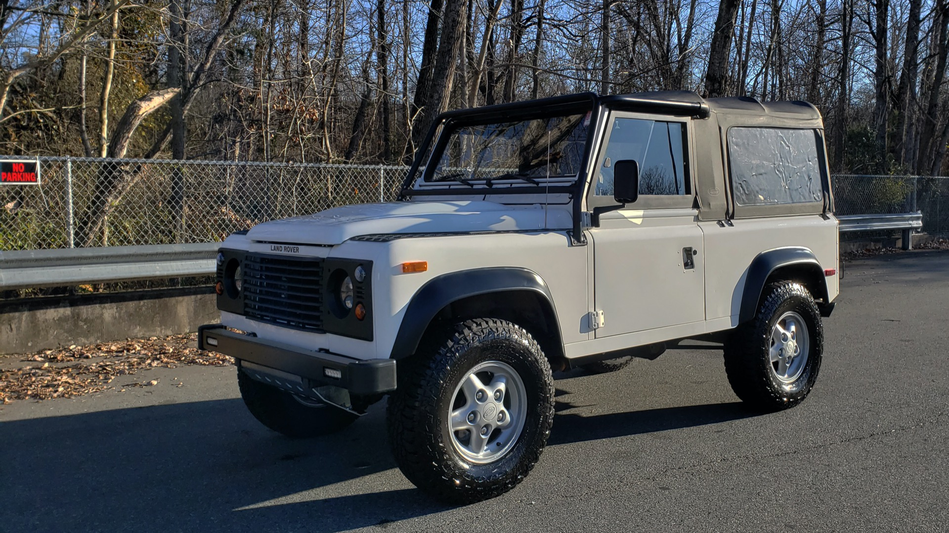 Used 1995 Land Rover DEFENDER 90 NAS SOFT-TOP AUTO / LS3 V8 / LOW MILES / SUPER CLEAN for sale Sold at Formula Imports in Charlotte NC 28227 1
