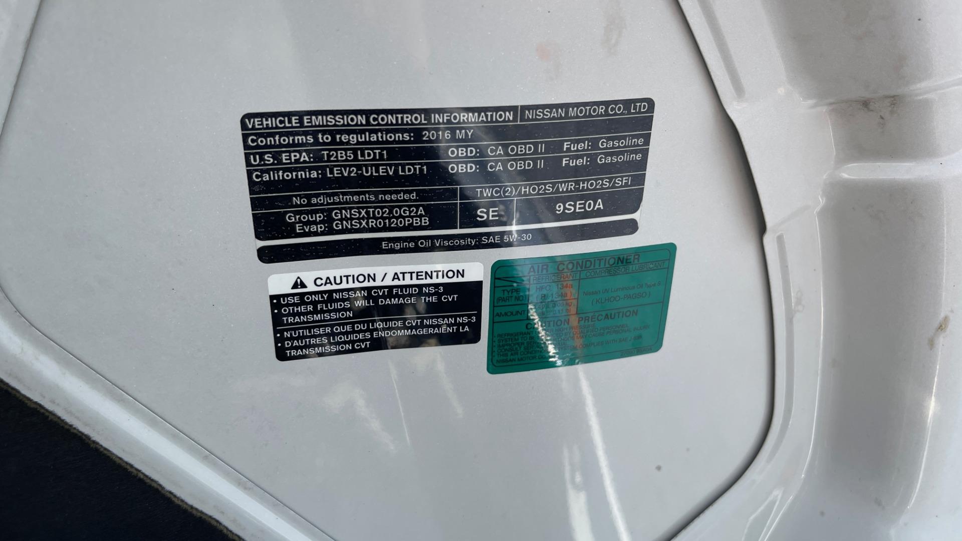 Used 2016 Nissan NV200 SV / WORK VAN / EXTERIOR APPEARANCE PKG / SPLASH GUARDS for sale $14,999 at Formula Imports in Charlotte NC 28227 30
