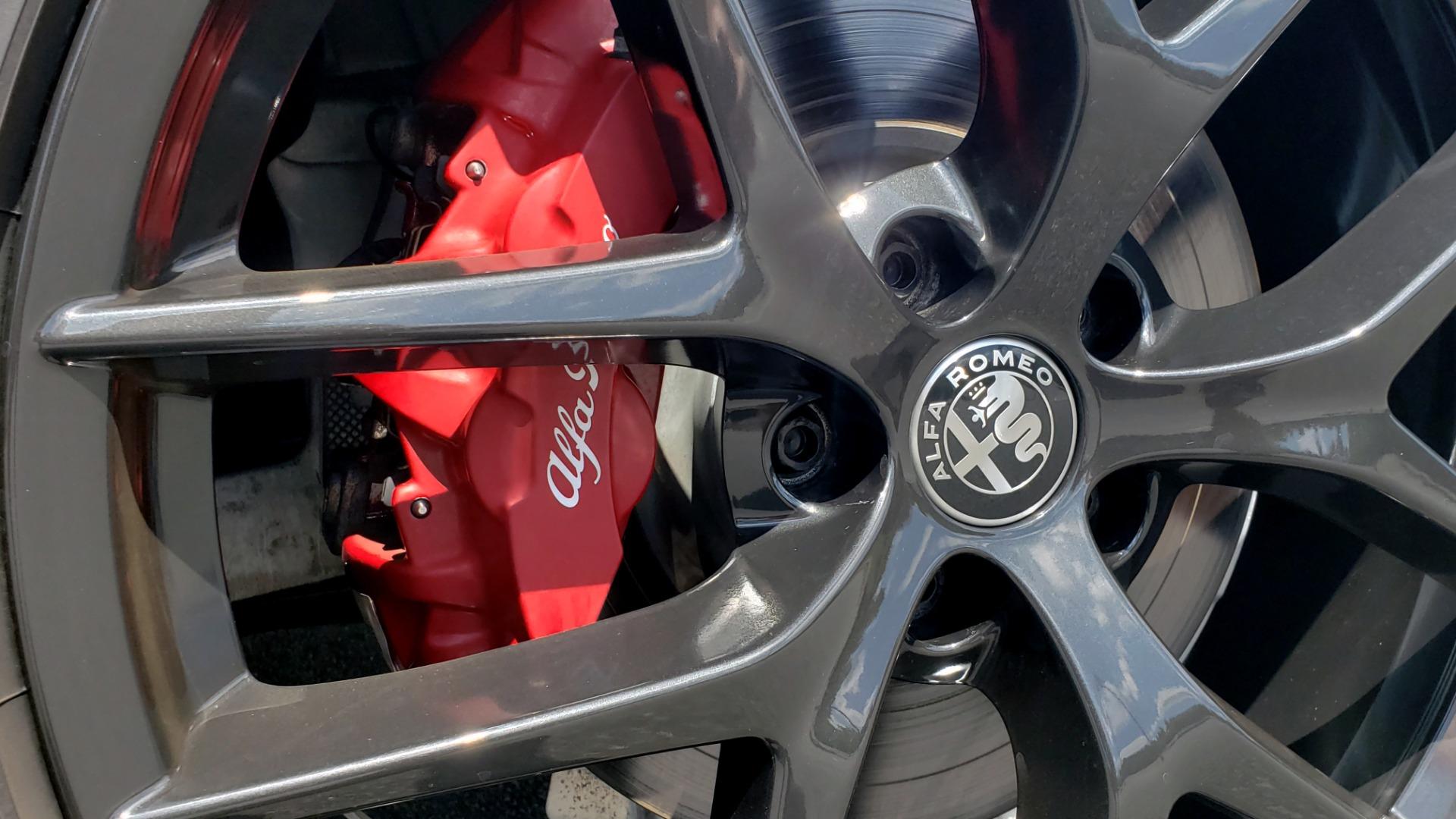Used 2019 Alfa Romeo STELVIO TI SPORT AWD / 2.0L TURBO / 8-SPD AUTO / DRVR ASST / REARVIEW for sale $37,495 at Formula Imports in Charlotte NC 28227 14