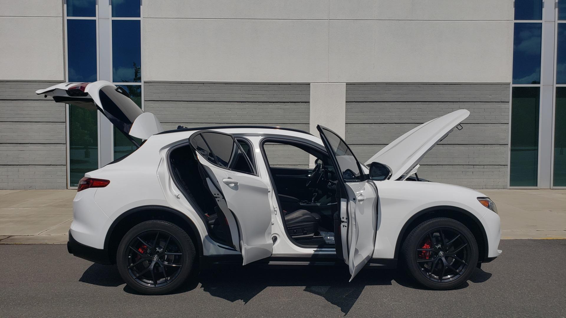 Used 2019 Alfa Romeo STELVIO TI SPORT AWD / 2.0L TURBO / 8-SPD AUTO / DRVR ASST / REARVIEW for sale $37,495 at Formula Imports in Charlotte NC 28227 15