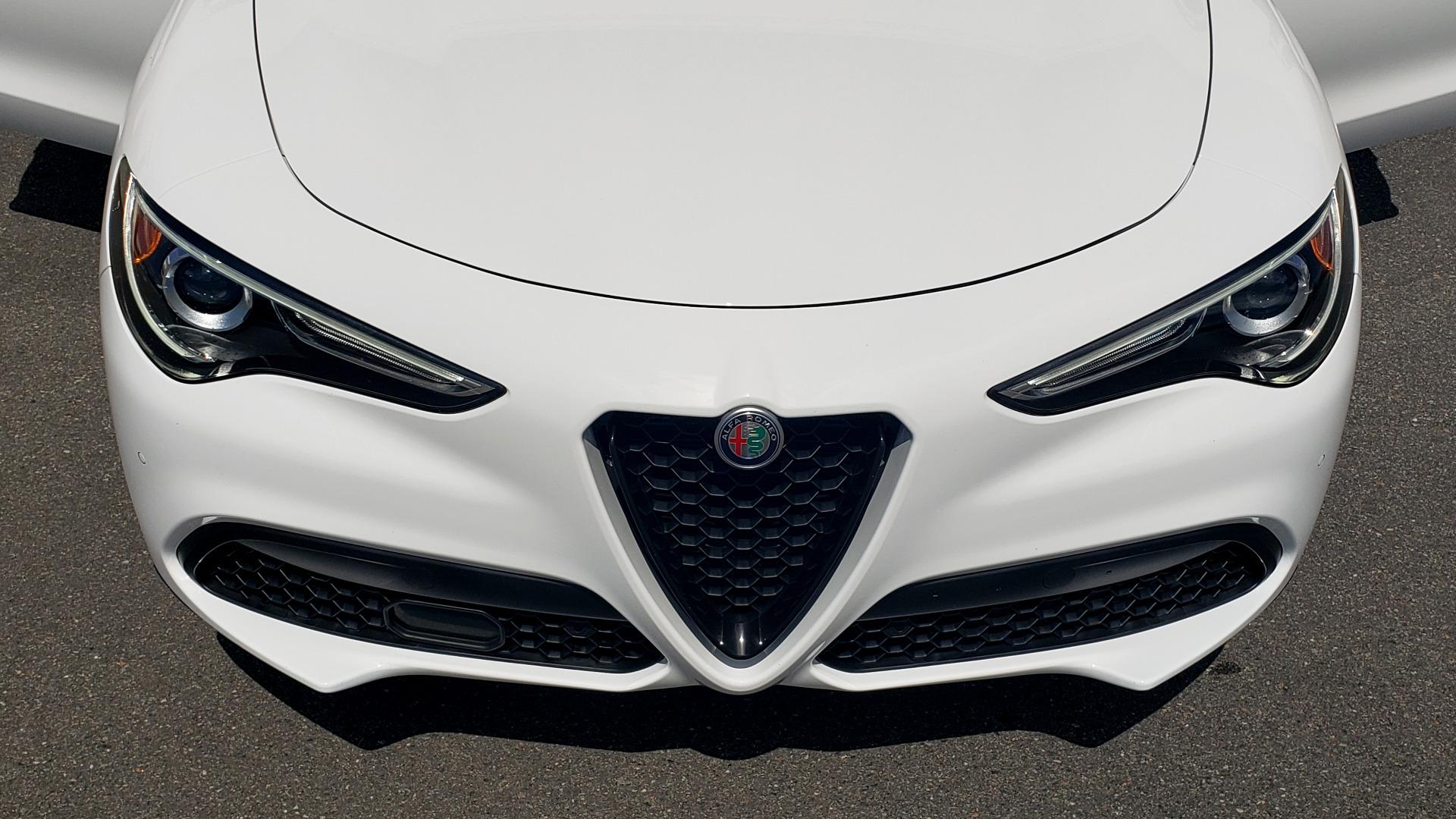 Used 2019 Alfa Romeo STELVIO TI SPORT AWD / 2.0L TURBO / 8-SPD AUTO / DRVR ASST / REARVIEW for sale $37,495 at Formula Imports in Charlotte NC 28227 28