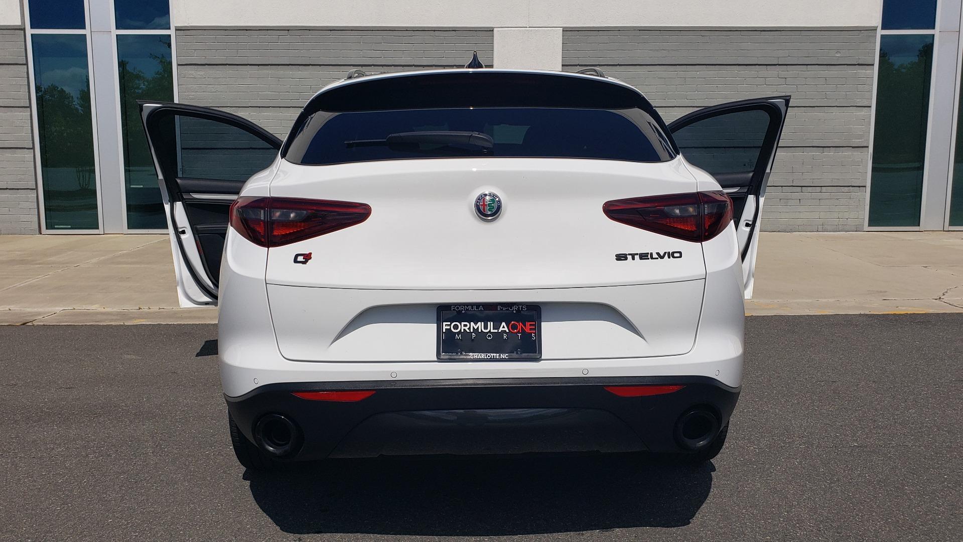 Used 2019 Alfa Romeo STELVIO TI SPORT AWD / 2.0L TURBO / 8-SPD AUTO / DRVR ASST / REARVIEW for sale $37,495 at Formula Imports in Charlotte NC 28227 32