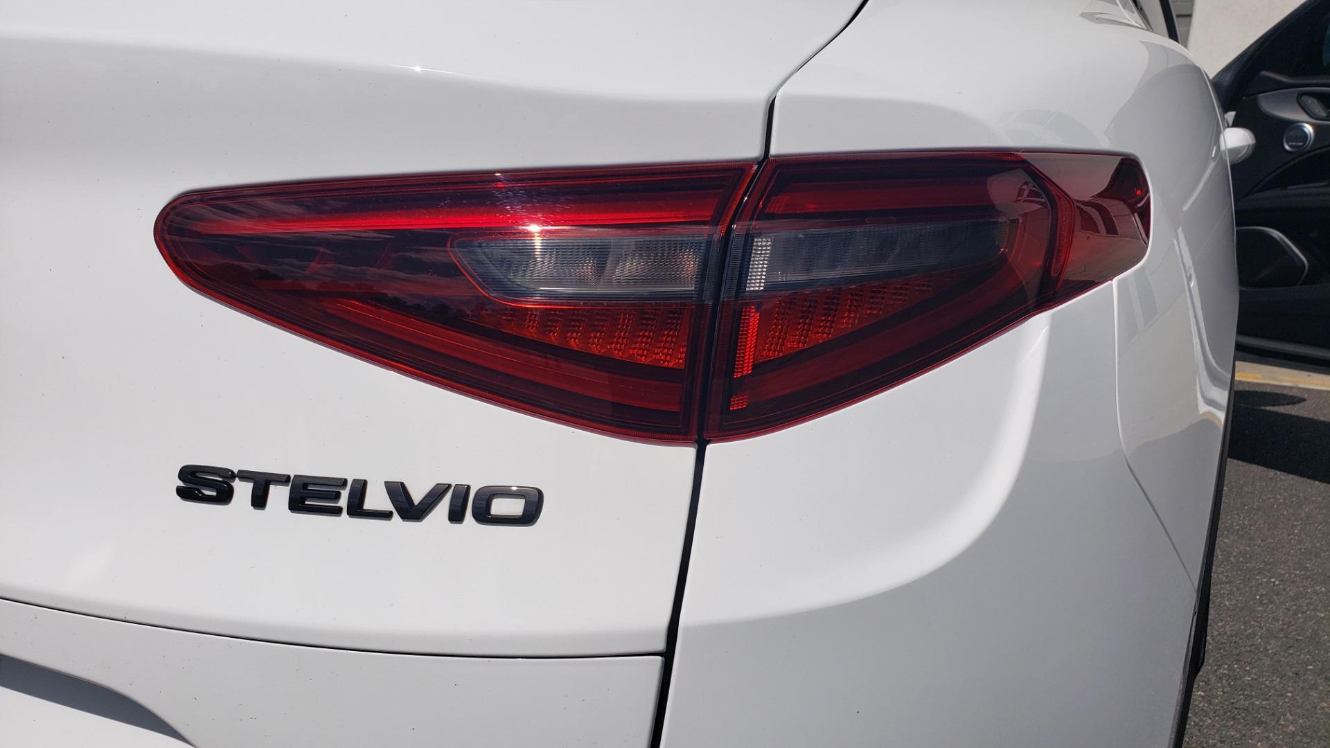Used 2019 Alfa Romeo STELVIO TI SPORT AWD / 2.0L TURBO / 8-SPD AUTO / DRVR ASST / REARVIEW for sale $37,495 at Formula Imports in Charlotte NC 28227 34