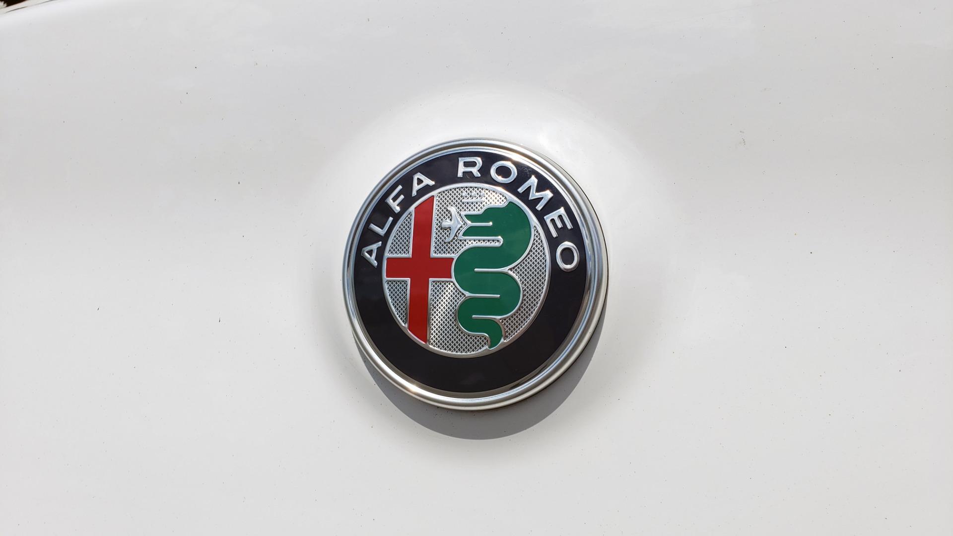 Used 2019 Alfa Romeo STELVIO TI SPORT AWD / 2.0L TURBO / 8-SPD AUTO / DRVR ASST / REARVIEW for sale $37,495 at Formula Imports in Charlotte NC 28227 35