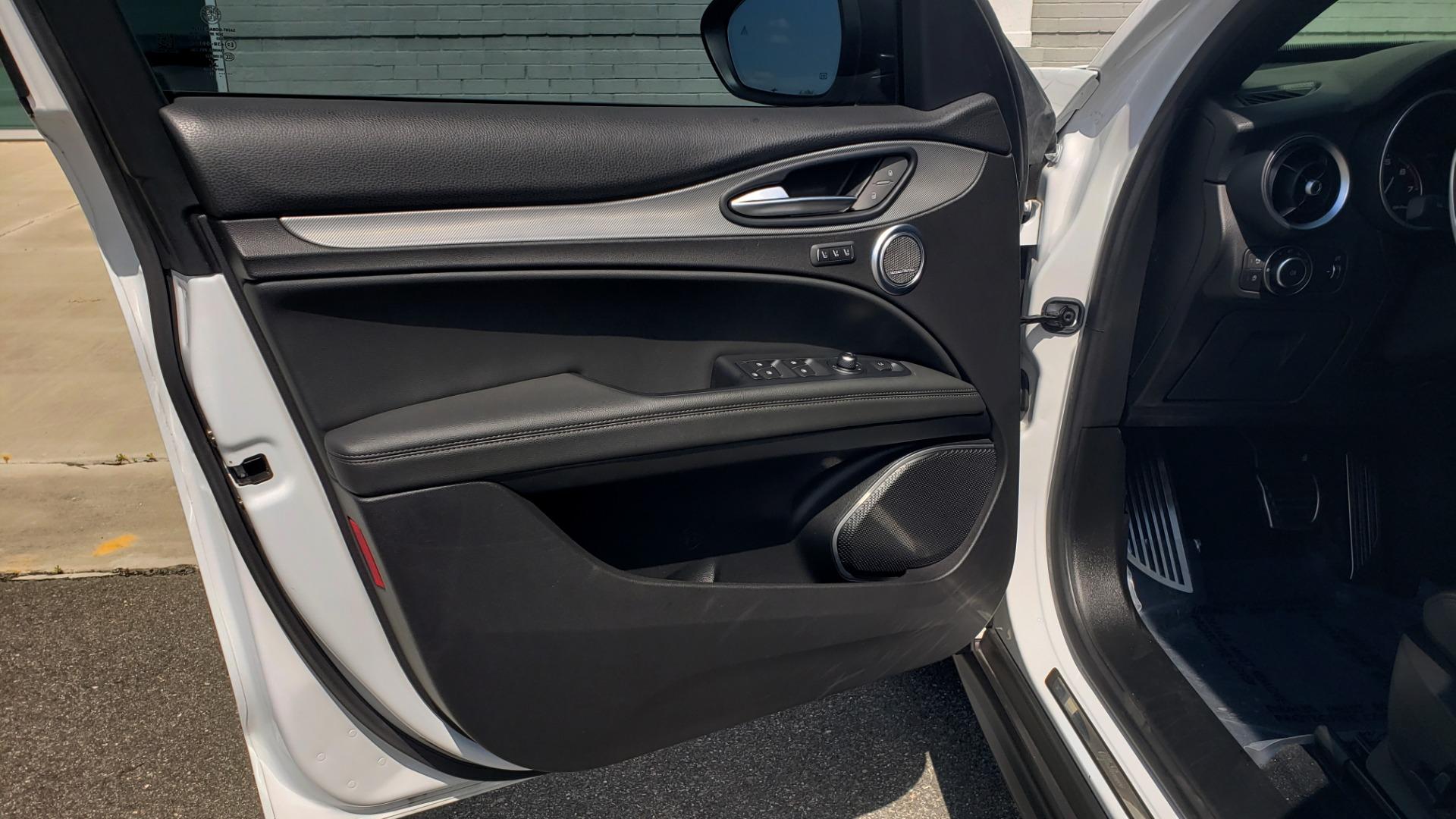Used 2019 Alfa Romeo STELVIO TI SPORT AWD / 2.0L TURBO / 8-SPD AUTO / DRVR ASST / REARVIEW for sale $37,495 at Formula Imports in Charlotte NC 28227 37