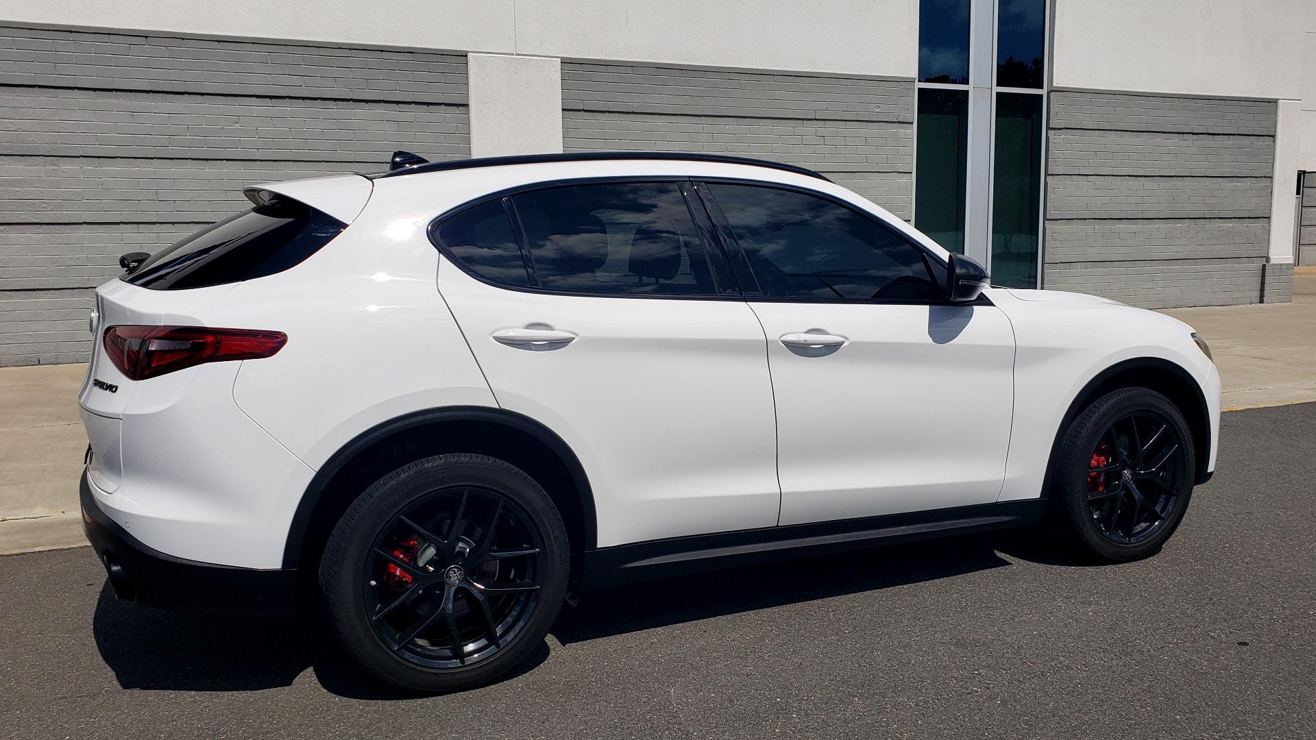 Used 2019 Alfa Romeo STELVIO TI SPORT AWD / 2.0L TURBO / 8-SPD AUTO / DRVR ASST / REARVIEW for sale $37,495 at Formula Imports in Charlotte NC 28227 4