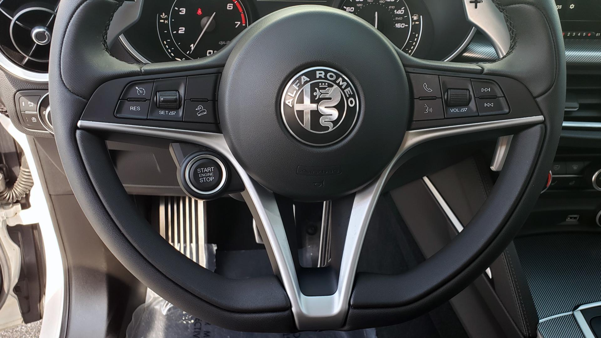 Used 2019 Alfa Romeo STELVIO TI SPORT AWD / 2.0L TURBO / 8-SPD AUTO / DRVR ASST / REARVIEW for sale $37,495 at Formula Imports in Charlotte NC 28227 43