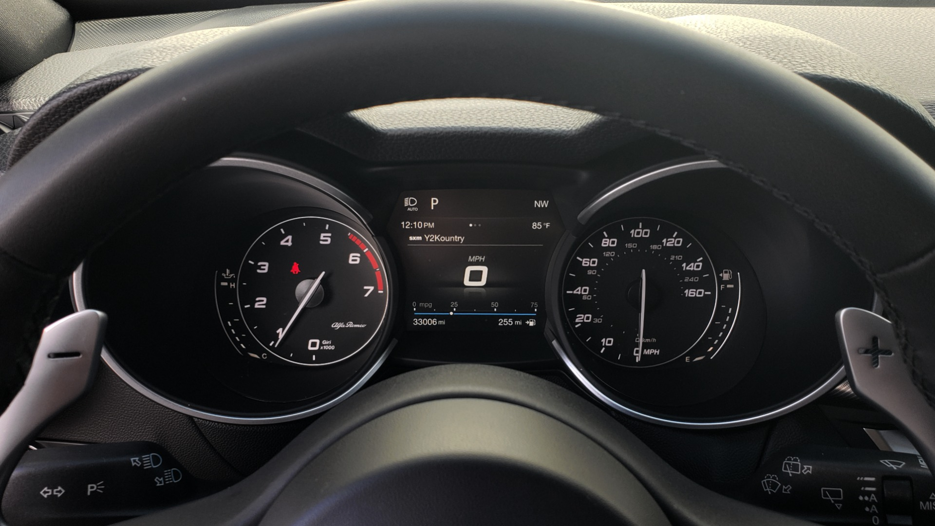 Used 2019 Alfa Romeo STELVIO TI SPORT AWD / 2.0L TURBO / 8-SPD AUTO / DRVR ASST / REARVIEW for sale $37,495 at Formula Imports in Charlotte NC 28227 47