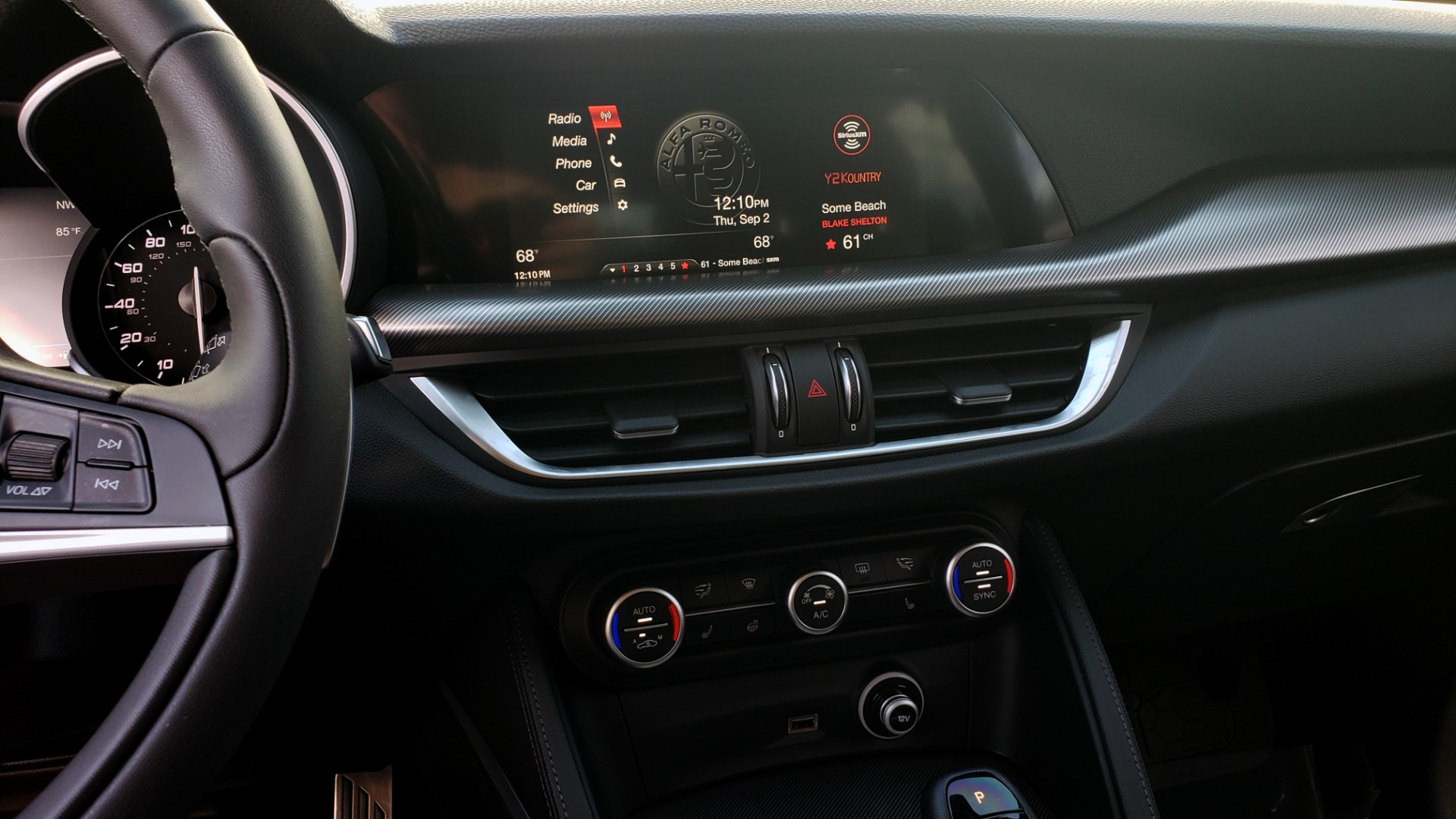 Used 2019 Alfa Romeo STELVIO TI SPORT AWD / 2.0L TURBO / 8-SPD AUTO / DRVR ASST / REARVIEW for sale $37,495 at Formula Imports in Charlotte NC 28227 50