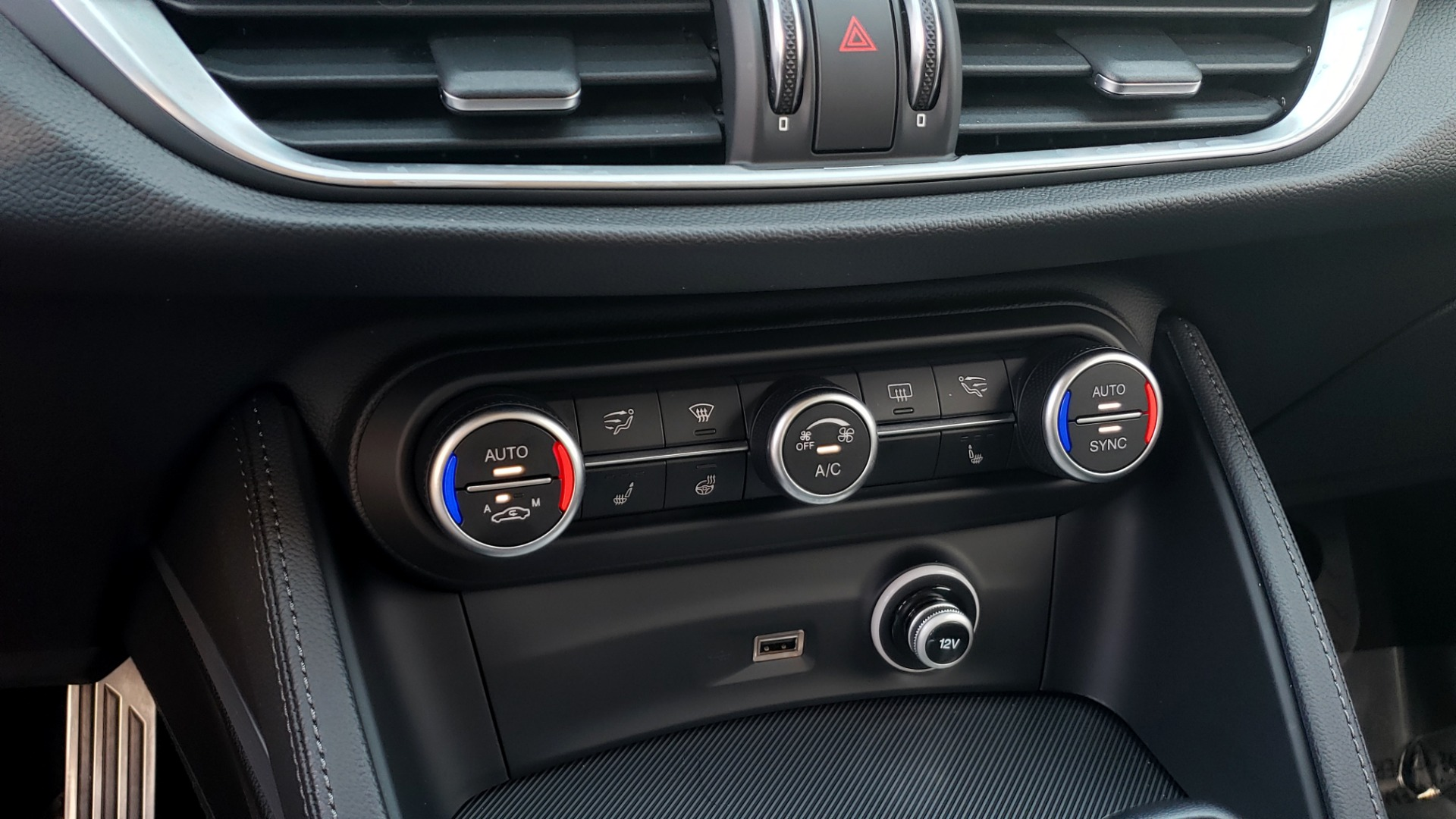 Used 2019 Alfa Romeo STELVIO TI SPORT AWD / 2.0L TURBO / 8-SPD AUTO / DRVR ASST / REARVIEW for sale $37,495 at Formula Imports in Charlotte NC 28227 54