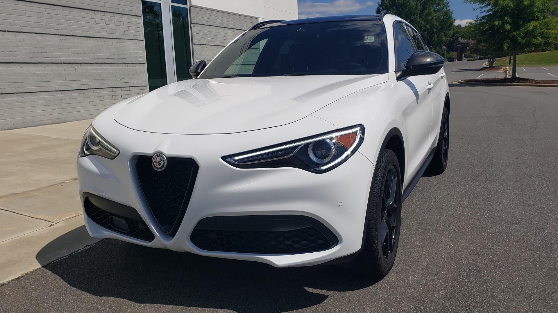 Used 2019 Alfa Romeo STELVIO TI SPORT AWD / 2.0L TURBO / 8-SPD AUTO / DRVR ASST / REARVIEW for sale $37,495 at Formula Imports in Charlotte NC 28227 6