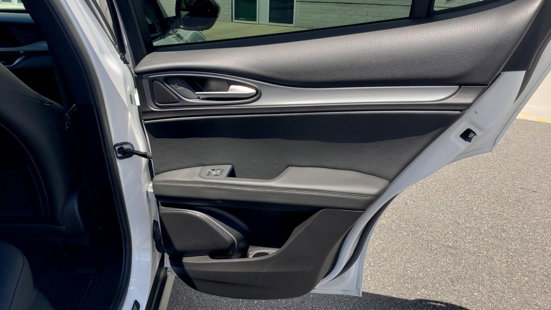 Used 2019 Alfa Romeo STELVIO TI SPORT AWD / 2.0L TURBO / 8-SPD AUTO / DRVR ASST / REARVIEW for sale $37,495 at Formula Imports in Charlotte NC 28227 74