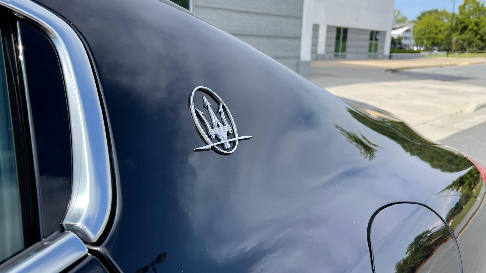 Used 2018 Maserati GHIBLI 3.0L SEDAN / 8-SPD AUTO / NAV / SUNROOF / REARVIEW for sale $42,995 at Formula Imports in Charlotte NC 28227 10