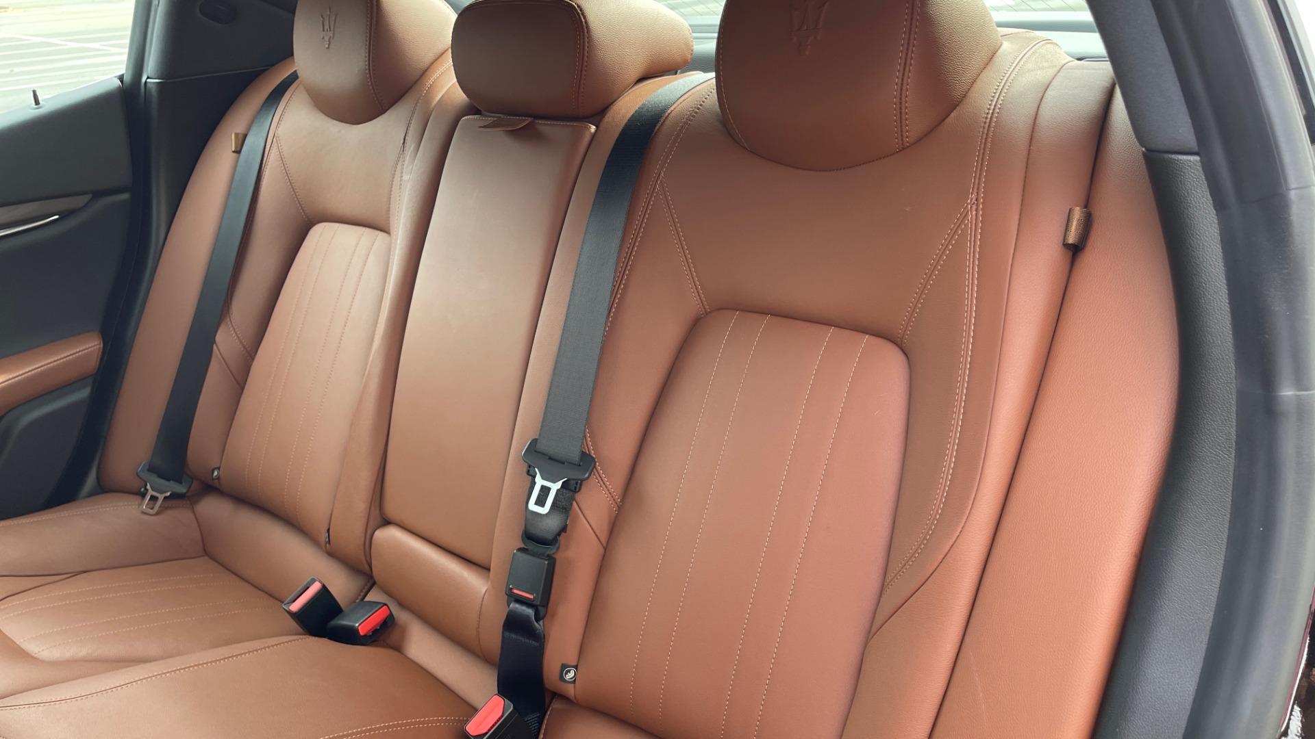 Used 2018 Maserati GHIBLI 3.0L SEDAN / 8-SPD AUTO / NAV / SUNROOF / REARVIEW for sale $42,995 at Formula Imports in Charlotte NC 28227 50