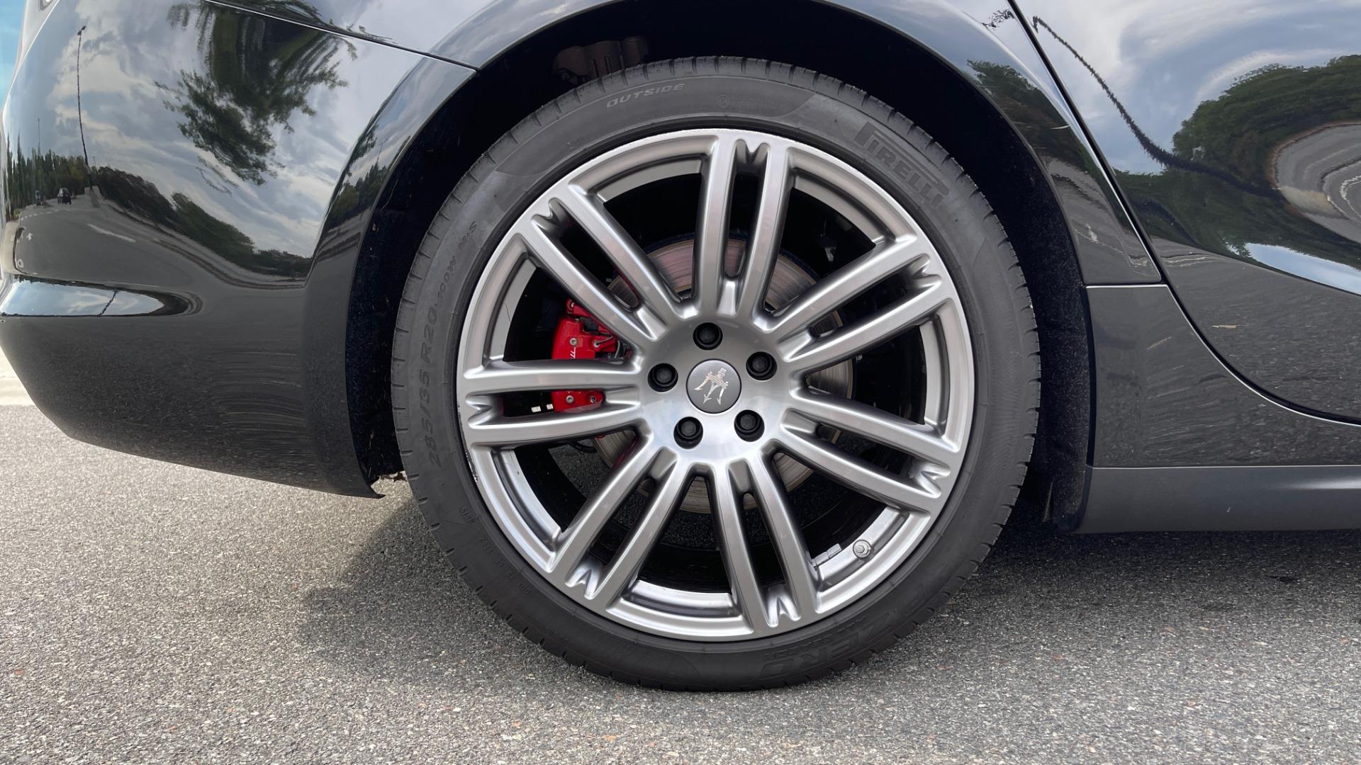 Used 2018 Maserati GHIBLI 3.0L SEDAN / 8-SPD AUTO / NAV / SUNROOF / REARVIEW for sale $42,995 at Formula Imports in Charlotte NC 28227 64