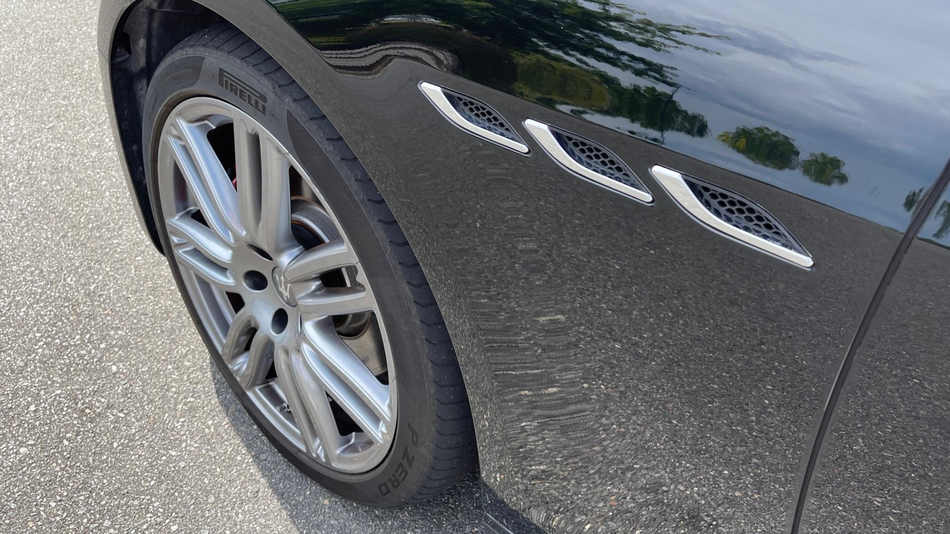 Used 2018 Maserati GHIBLI 3.0L SEDAN / 8-SPD AUTO / NAV / SUNROOF / REARVIEW for sale $42,995 at Formula Imports in Charlotte NC 28227 9
