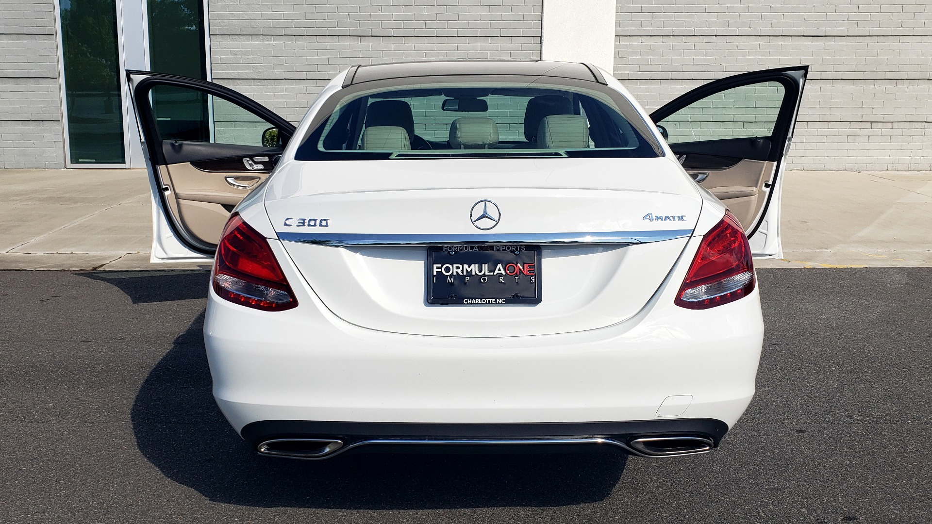 Used 2018 Mercedes-Benz C-Class C 300 4MATIC PREMIUM / APPLE CARPLAY / PANO-ROOF / REARVIEW for sale $33,795 at Formula Imports in Charlotte NC 28227 28