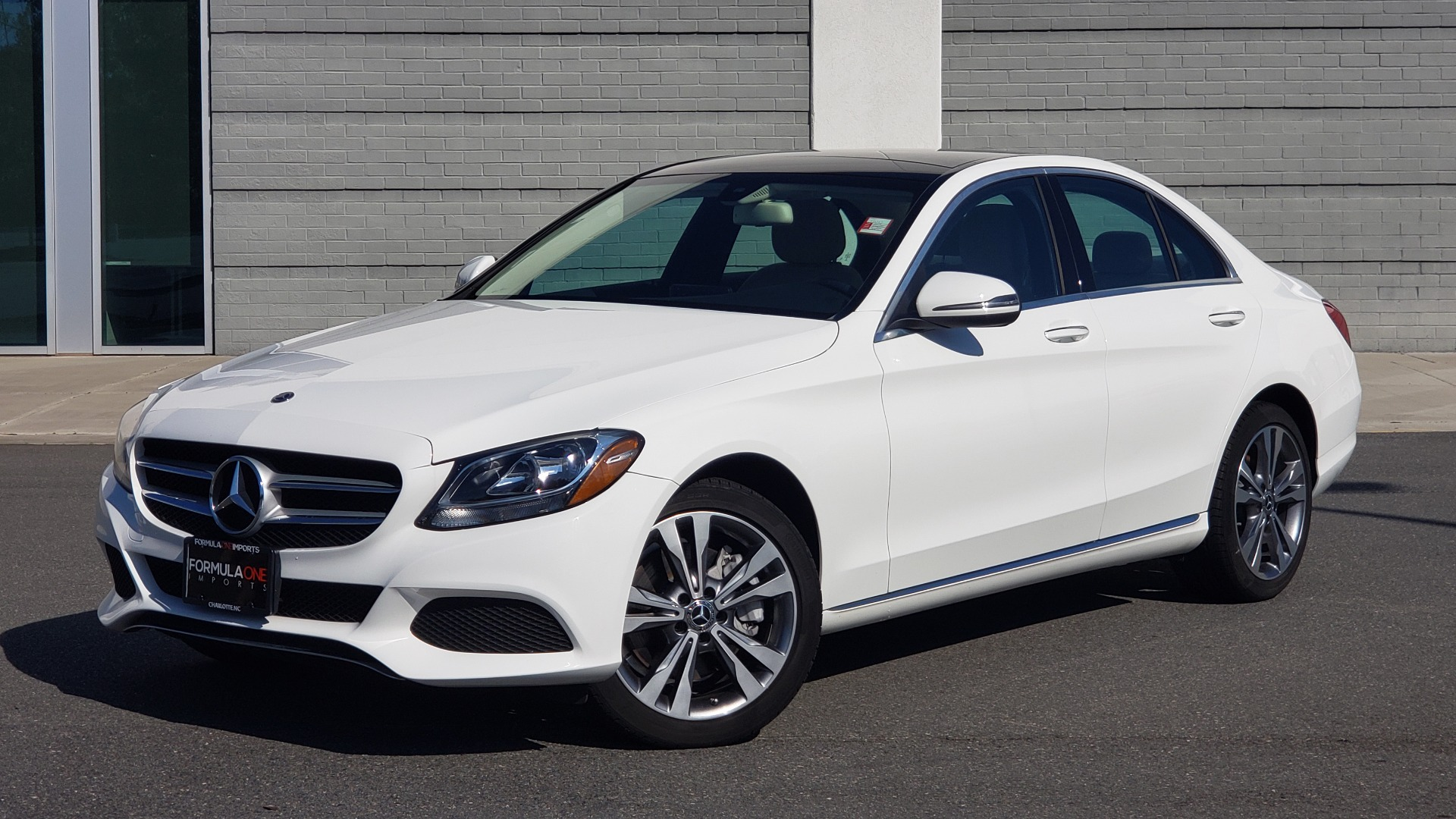 Used 2018 Mercedes-Benz C-Class C 300 4MATIC PREMIUM / APPLE CARPLAY / PANO-ROOF / REARVIEW for sale $33,795 at Formula Imports in Charlotte NC 28227 8