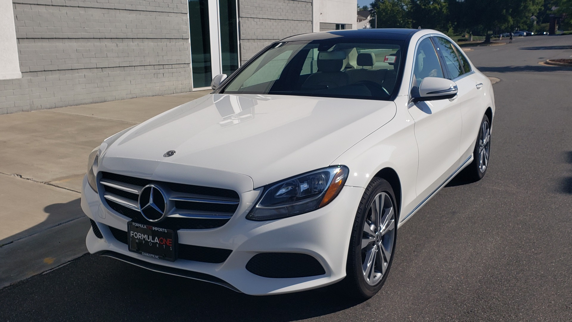 Used 2018 Mercedes-Benz C-Class C 300 4MATIC PREMIUM / APPLE CARPLAY / PANO-ROOF / REARVIEW for sale $33,795 at Formula Imports in Charlotte NC 28227 1