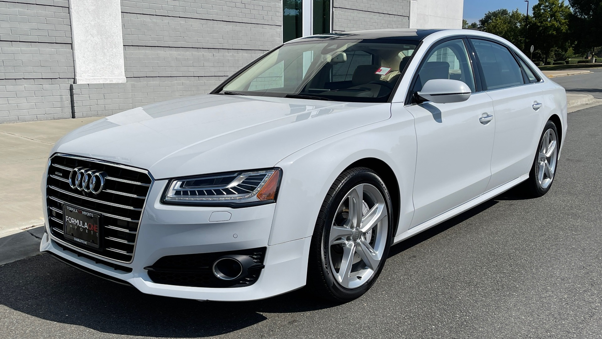 Used 2018 Audi A8 L SPORT 4.0T / EXECUTIVE PKG / NAV / BOSE / SUNROOF / REARVIEW for sale Sold at Formula Imports in Charlotte NC 28227 2