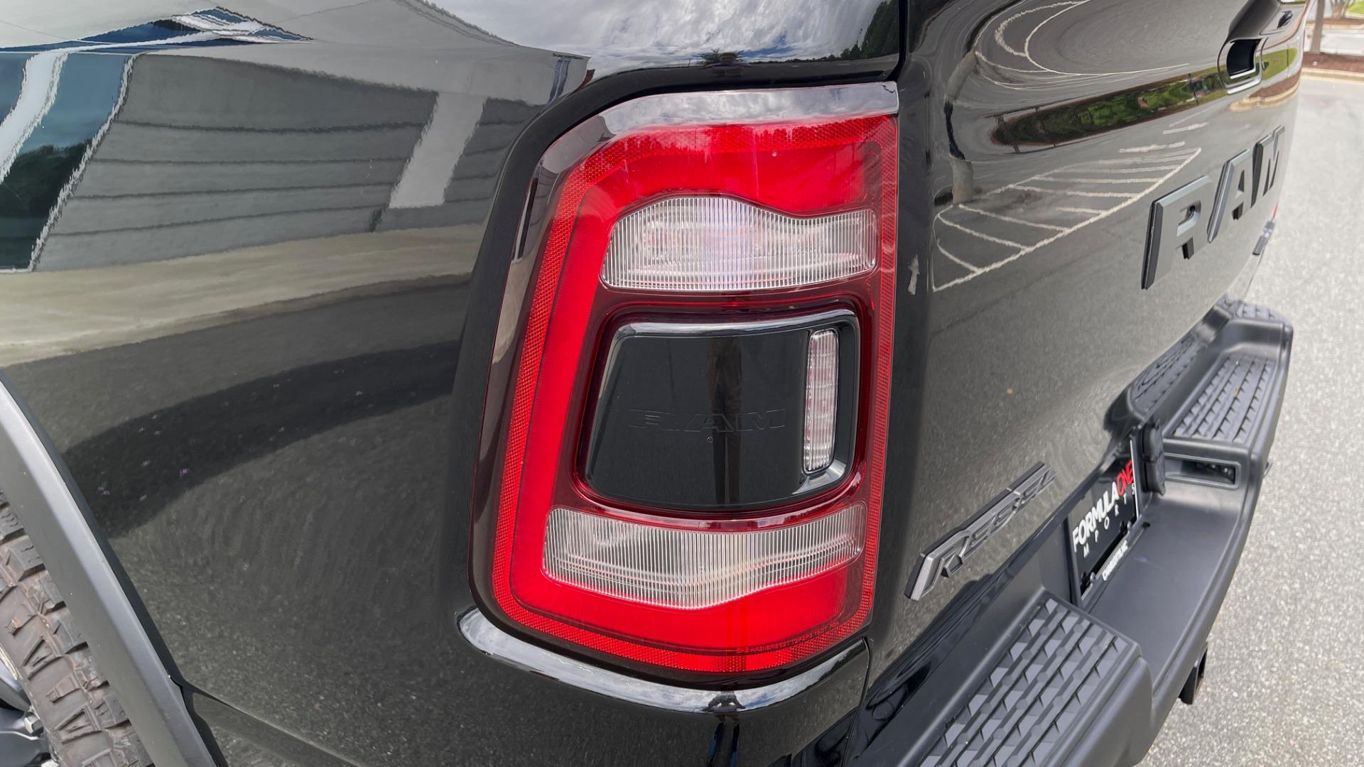 Used 2019 Ram 1500 REBEL QUADCAB 4X4 / 5.7L HEMI / 8-SPD AUTO / REMOTE START / PARK ASSIST for sale $44,495 at Formula Imports in Charlotte NC 28227 25