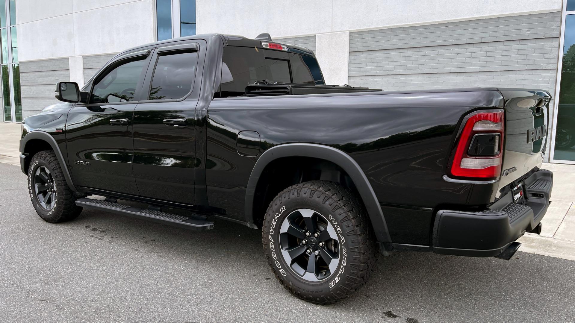 Used 2019 Ram 1500 REBEL QUADCAB 4X4 / 5.7L HEMI / 8-SPD AUTO / REMOTE START / PARK ASSIST for sale $44,495 at Formula Imports in Charlotte NC 28227 5
