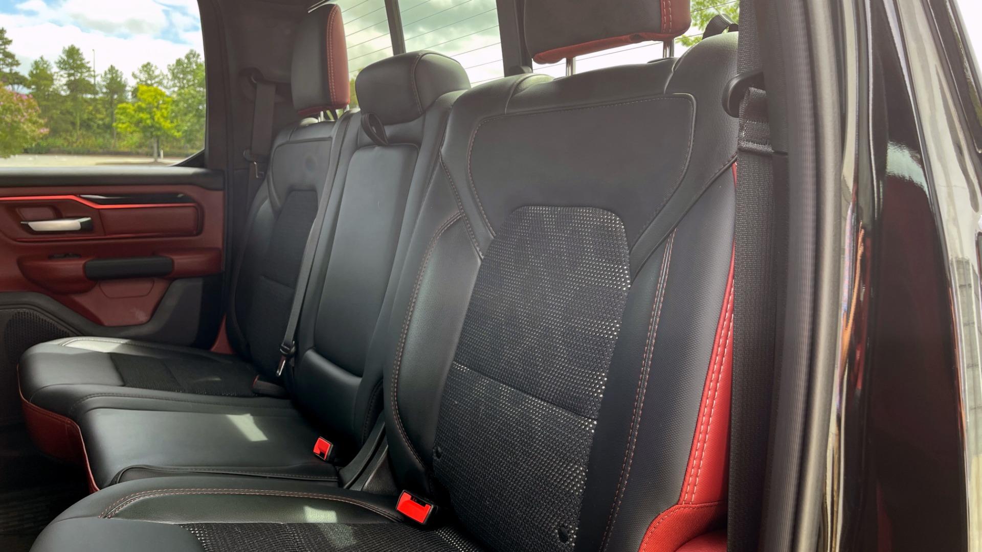 Used 2019 Ram 1500 REBEL QUADCAB 4X4 / 5.7L HEMI / 8-SPD AUTO / REMOTE START / PARK ASSIST for sale $44,495 at Formula Imports in Charlotte NC 28227 54
