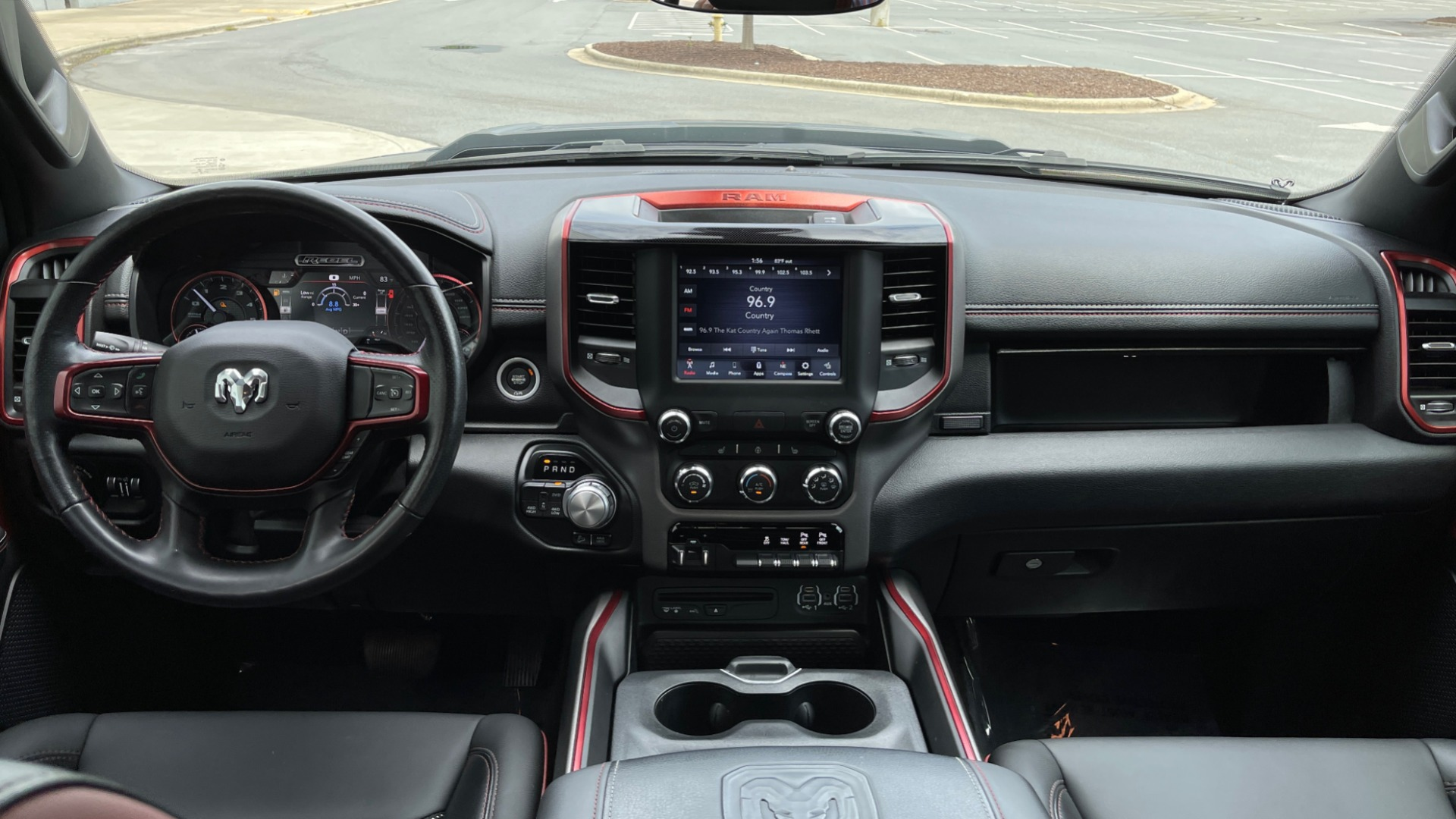 Used 2019 Ram 1500 REBEL QUADCAB 4X4 / 5.7L HEMI / 8-SPD AUTO / REMOTE START / PARK ASSIST for sale $44,495 at Formula Imports in Charlotte NC 28227 57