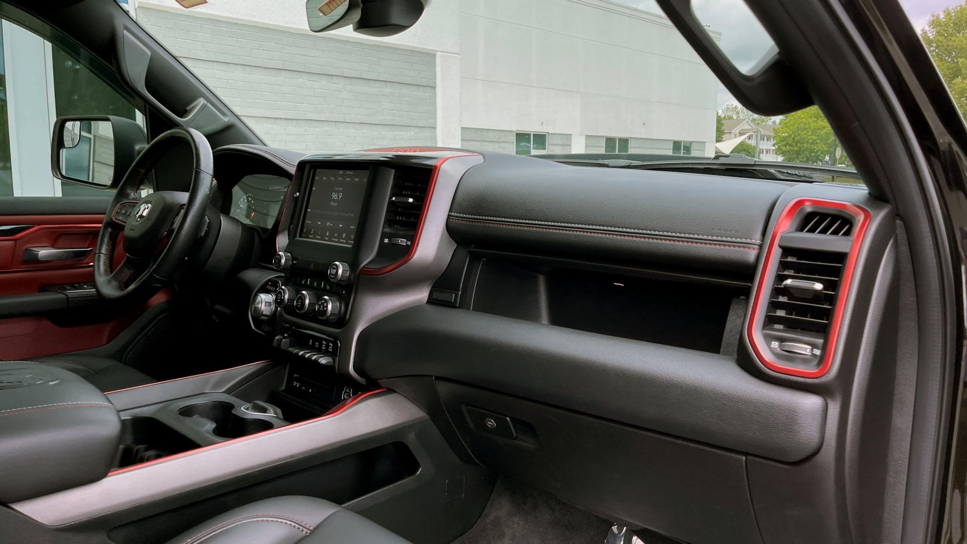 Used 2019 Ram 1500 REBEL QUADCAB 4X4 / 5.7L HEMI / 8-SPD AUTO / REMOTE START / PARK ASSIST for sale $44,495 at Formula Imports in Charlotte NC 28227 65