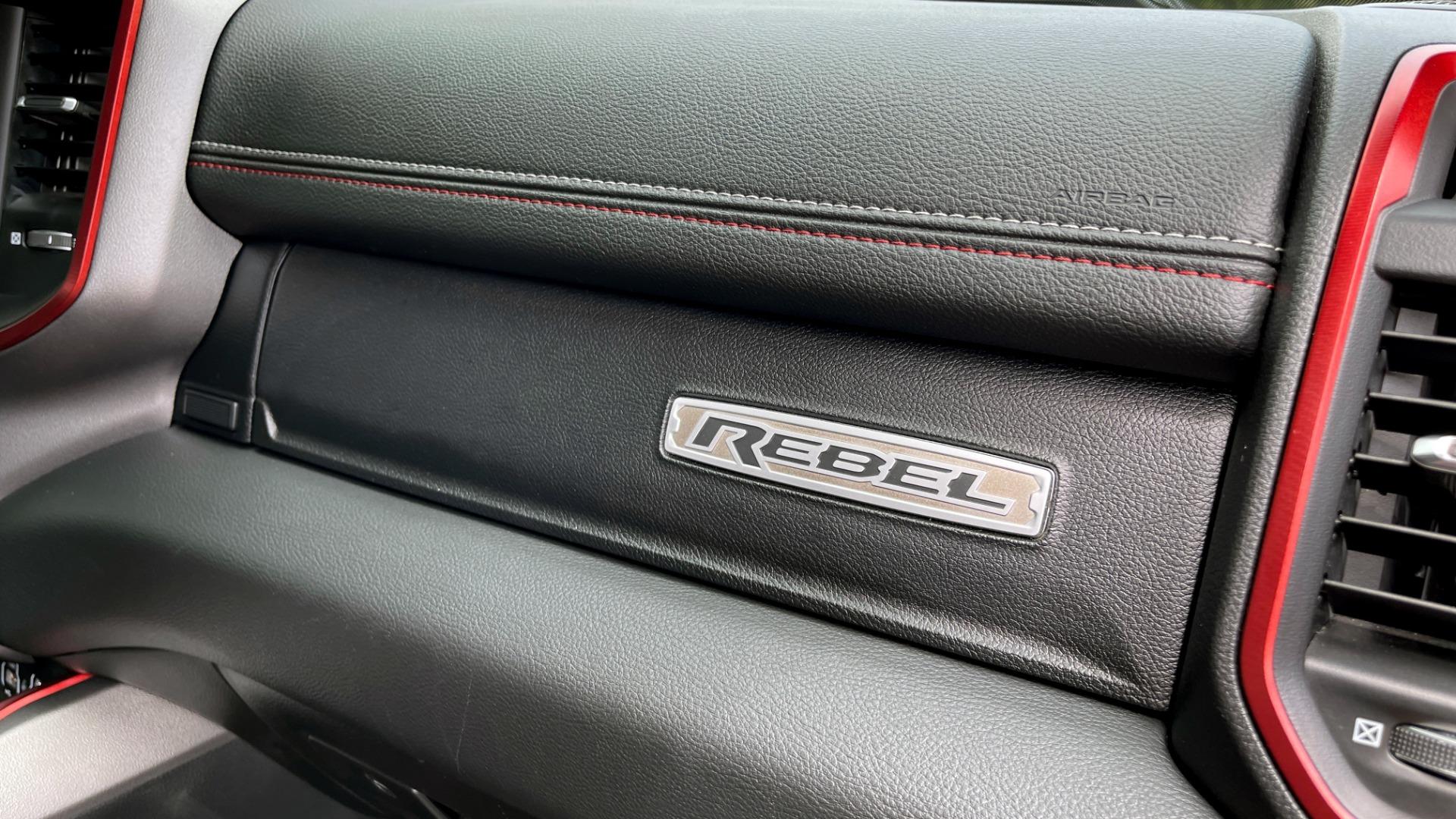 Used 2019 Ram 1500 REBEL QUADCAB 4X4 / 5.7L HEMI / 8-SPD AUTO / REMOTE START / PARK ASSIST for sale $44,495 at Formula Imports in Charlotte NC 28227 68