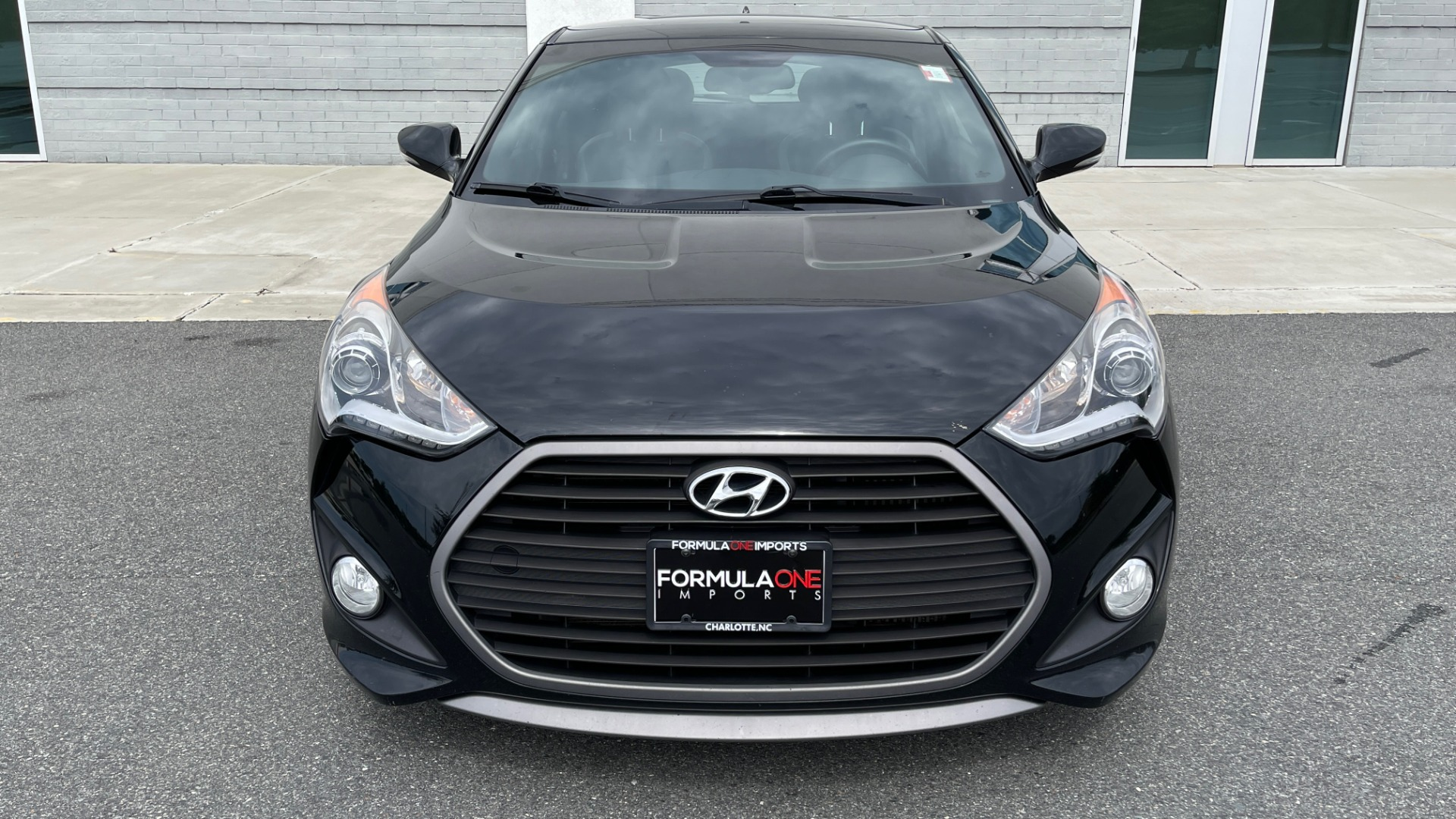 Used 2016 Hyundai VELOSTER TURBO 1.6L / AUTO / NAV / PANO-ROOF / REARVIEW for sale Sold at Formula Imports in Charlotte NC 28227 11