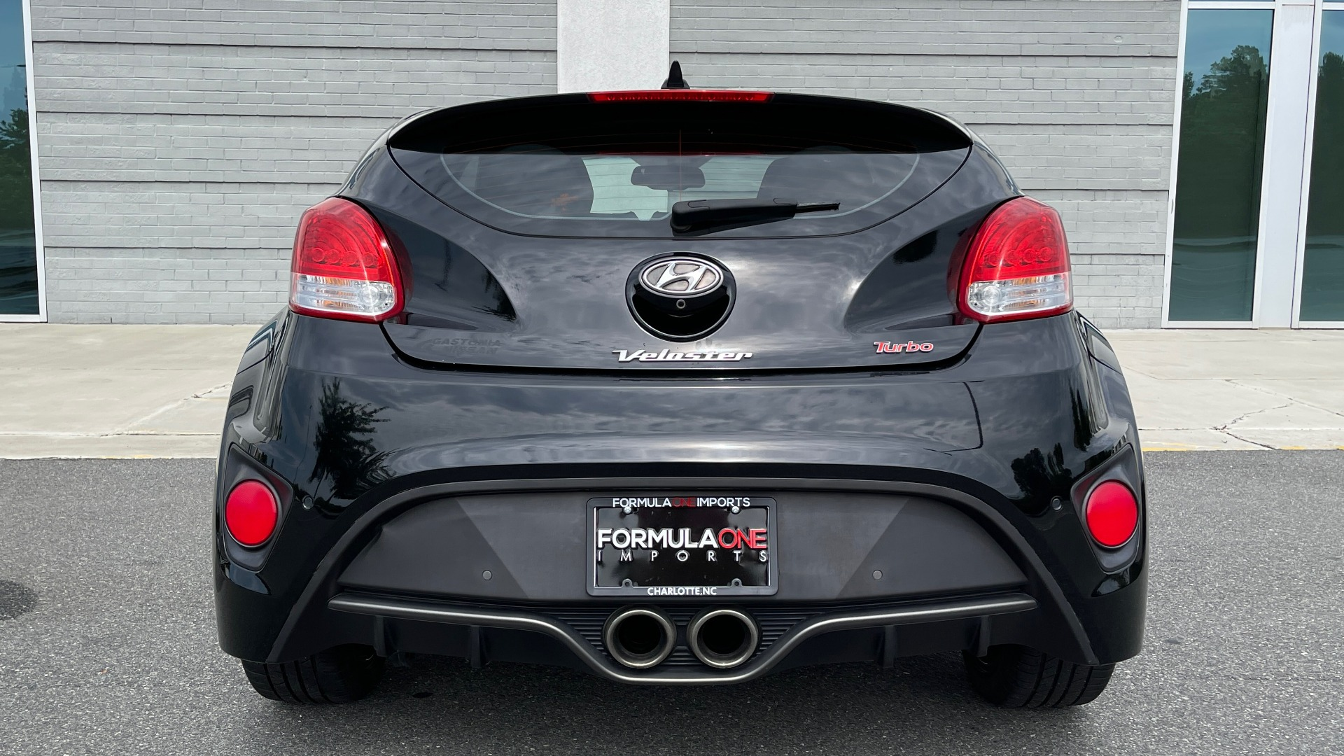 Used 2016 Hyundai VELOSTER TURBO 1.6L / AUTO / NAV / PANO-ROOF / REARVIEW for sale Sold at Formula Imports in Charlotte NC 28227 23