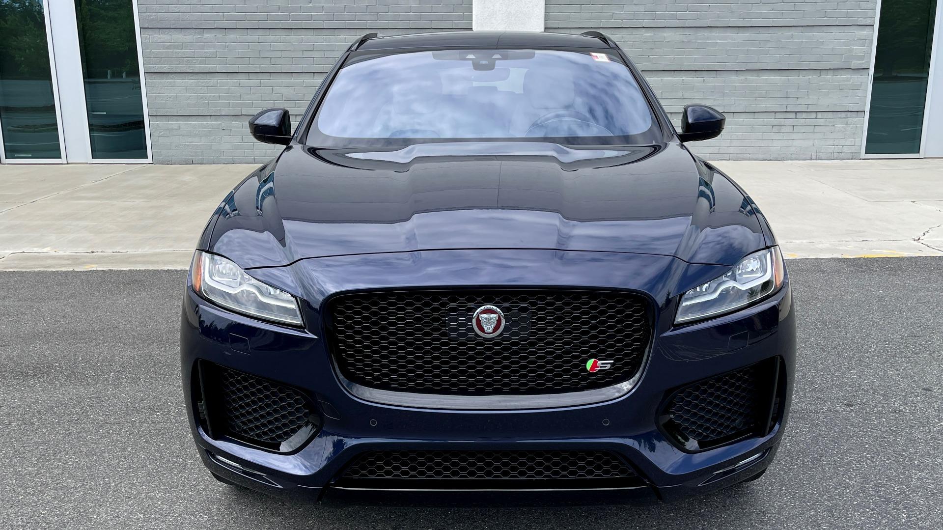Used 2019 Jaguar F-PACE S / DRIVE PKG / BSA / HUD / BLACK EXT PKG / REARVIEW for sale $50,995 at Formula Imports in Charlotte NC 28227 11