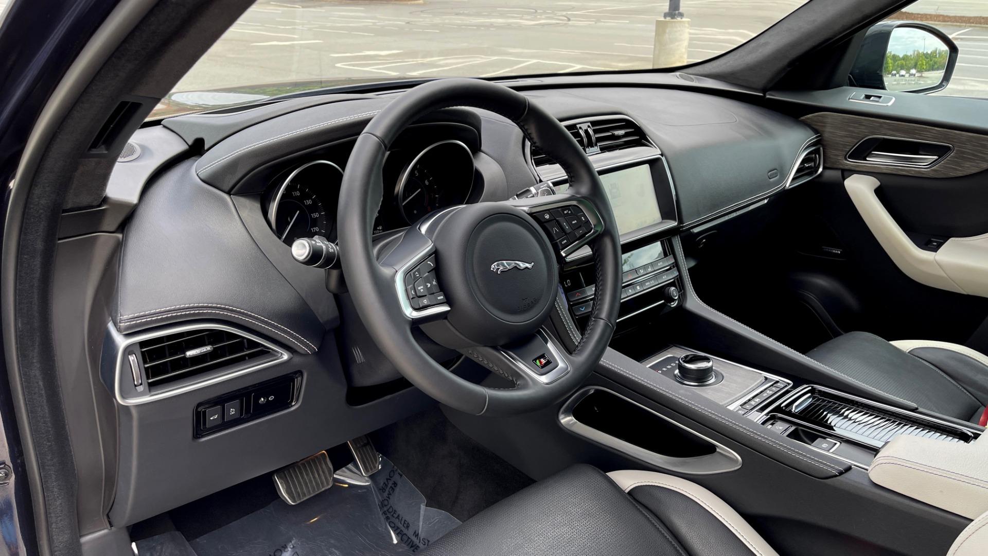 Used 2019 Jaguar F-PACE S / DRIVE PKG / BSA / HUD / BLACK EXT PKG / REARVIEW for sale $50,995 at Formula Imports in Charlotte NC 28227 28
