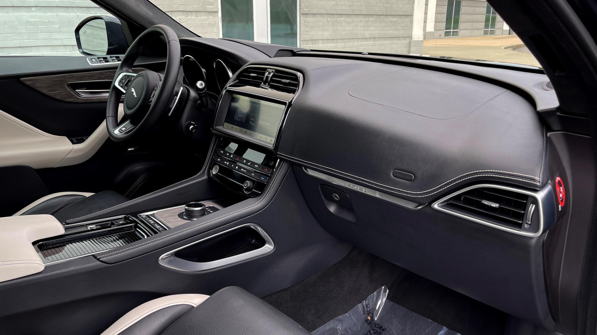 Used 2019 Jaguar F-PACE S / DRIVE PKG / BSA / HUD / BLACK EXT PKG / REARVIEW for sale $50,995 at Formula Imports in Charlotte NC 28227 64