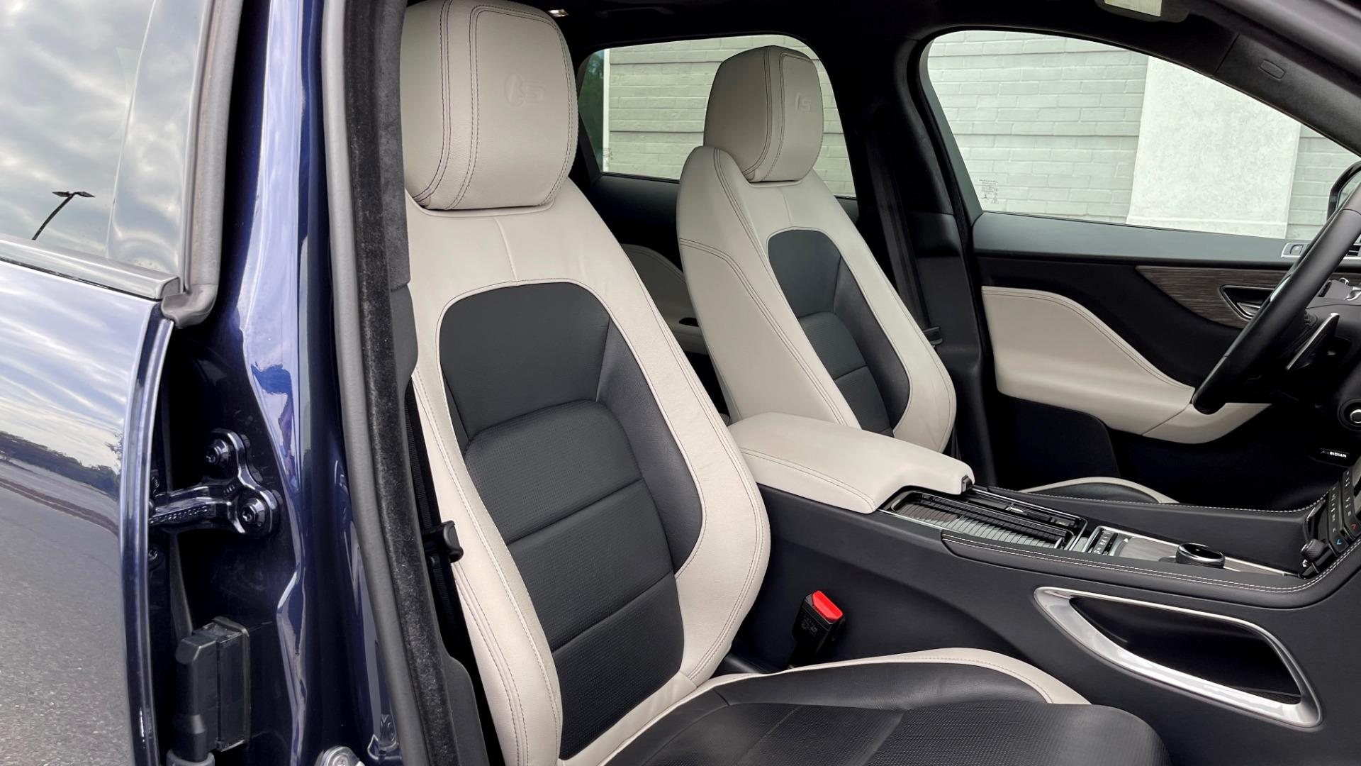 Used 2019 Jaguar F-PACE S / DRIVE PKG / BSA / HUD / BLACK EXT PKG / REARVIEW for sale $50,995 at Formula Imports in Charlotte NC 28227 65