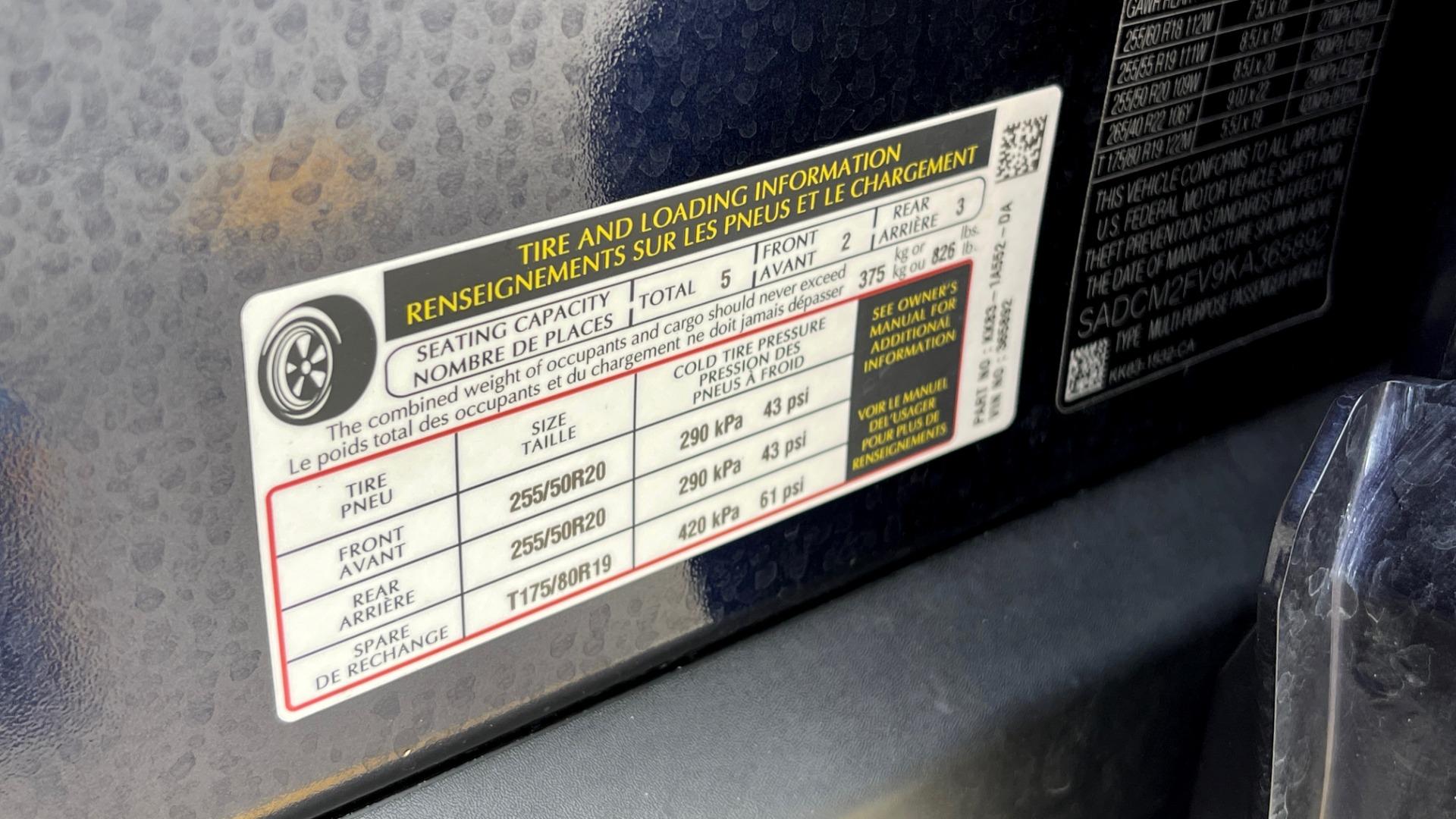 Used 2019 Jaguar F-PACE S / DRIVE PKG / BSA / HUD / BLACK EXT PKG / REARVIEW for sale $50,995 at Formula Imports in Charlotte NC 28227 77