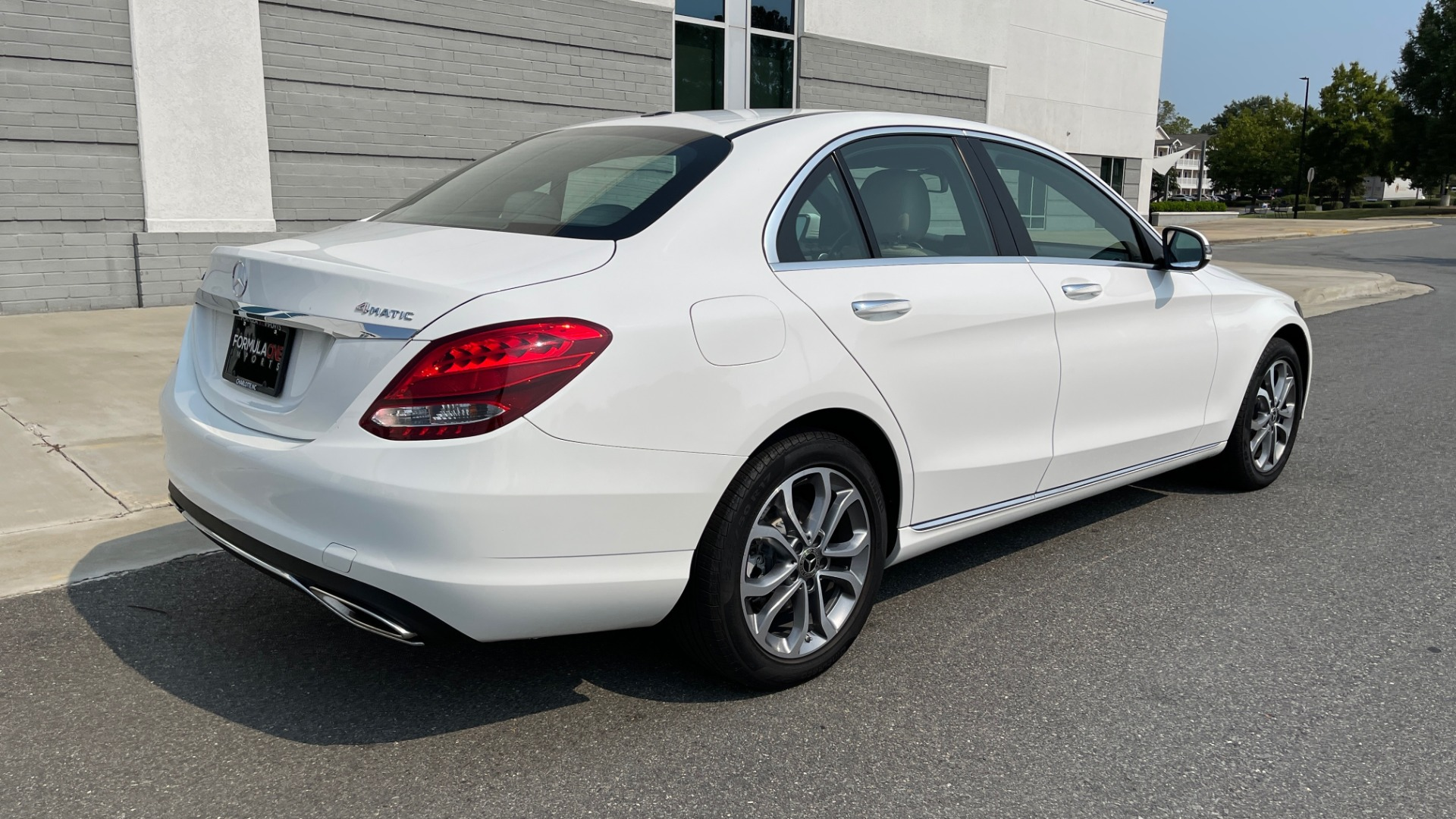 Used 2018 Mercedes-Benz C-Class C 300 4MATIC / PREMIUM / BURMESTER / HTD STS / SUNROOF / REARVIEW for sale $33,995 at Formula Imports in Charlotte NC 28227 2