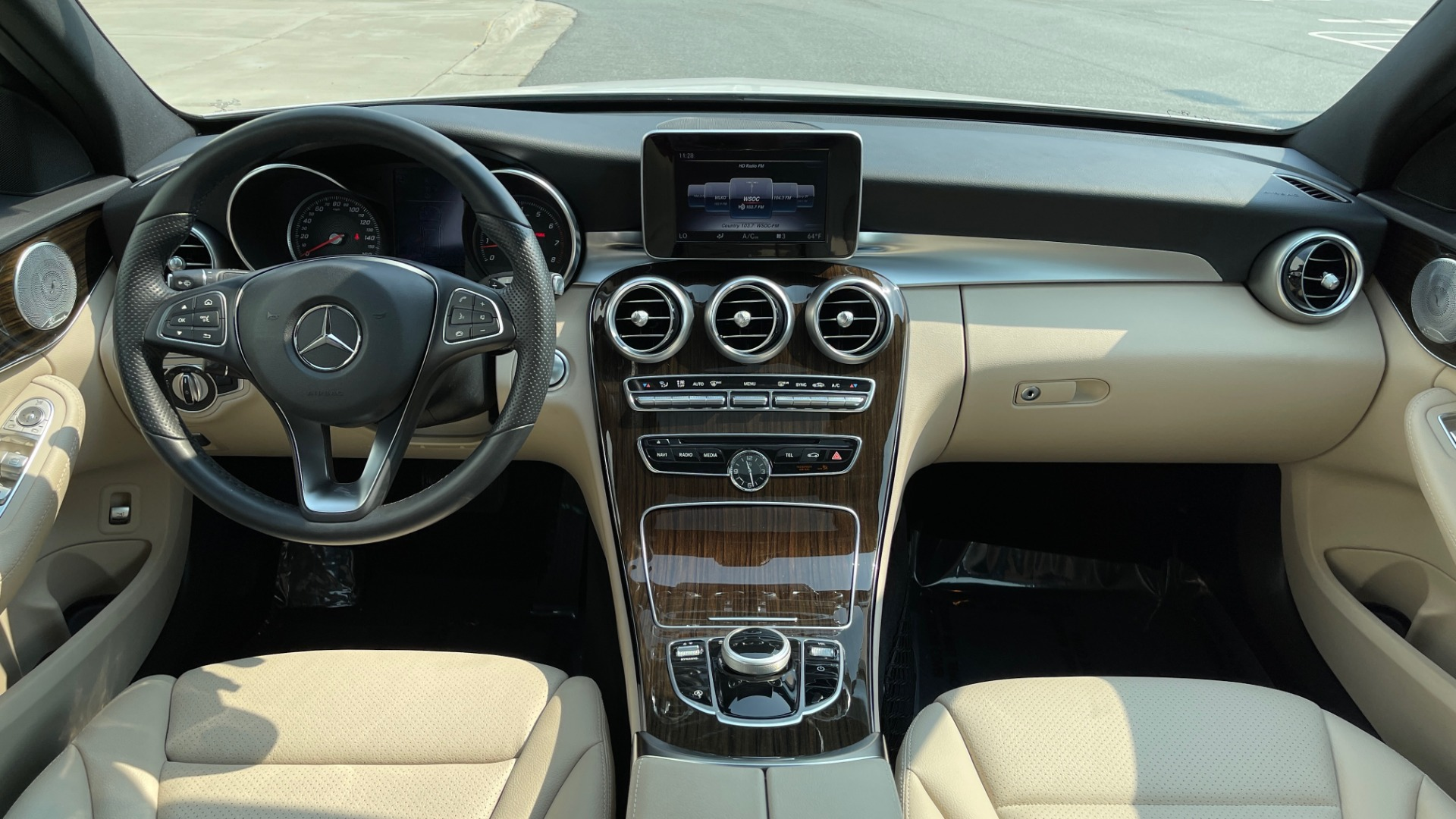 Used 2018 Mercedes-Benz C-Class C 300 4MATIC / PREMIUM / BURMESTER / HTD STS / SUNROOF / REARVIEW for sale $33,995 at Formula Imports in Charlotte NC 28227 48