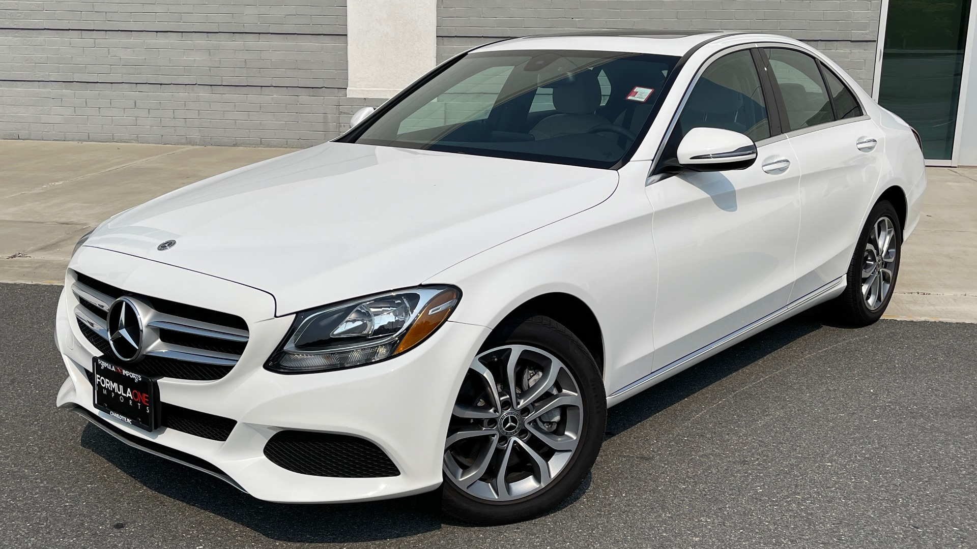 Used 2018 Mercedes-Benz C-Class C 300 4MATIC / PREMIUM / BURMESTER / HTD STS / SUNROOF / REARVIEW for sale $33,995 at Formula Imports in Charlotte NC 28227 1