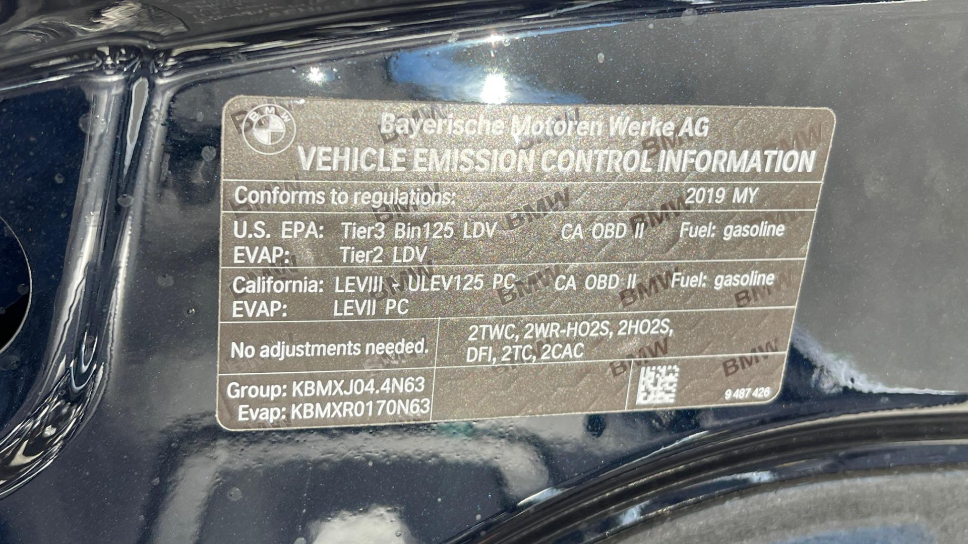 Used 2019 BMW 7 SERIES 750I XDRIVE M-SPORT / EXEC PKG / DRVR ASST PLUS / CLD WTHR / PAR for sale $60,995 at Formula Imports in Charlotte NC 28227 11