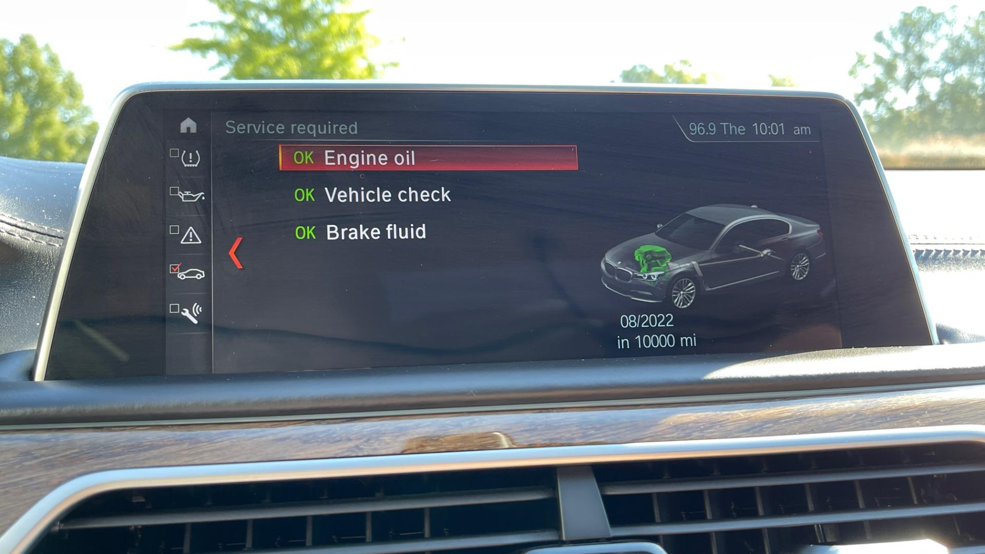 Used 2019 BMW 7 SERIES 750I XDRIVE M-SPORT / EXEC PKG / DRVR ASST PLUS / CLD WTHR / PAR for sale $60,995 at Formula Imports in Charlotte NC 28227 36